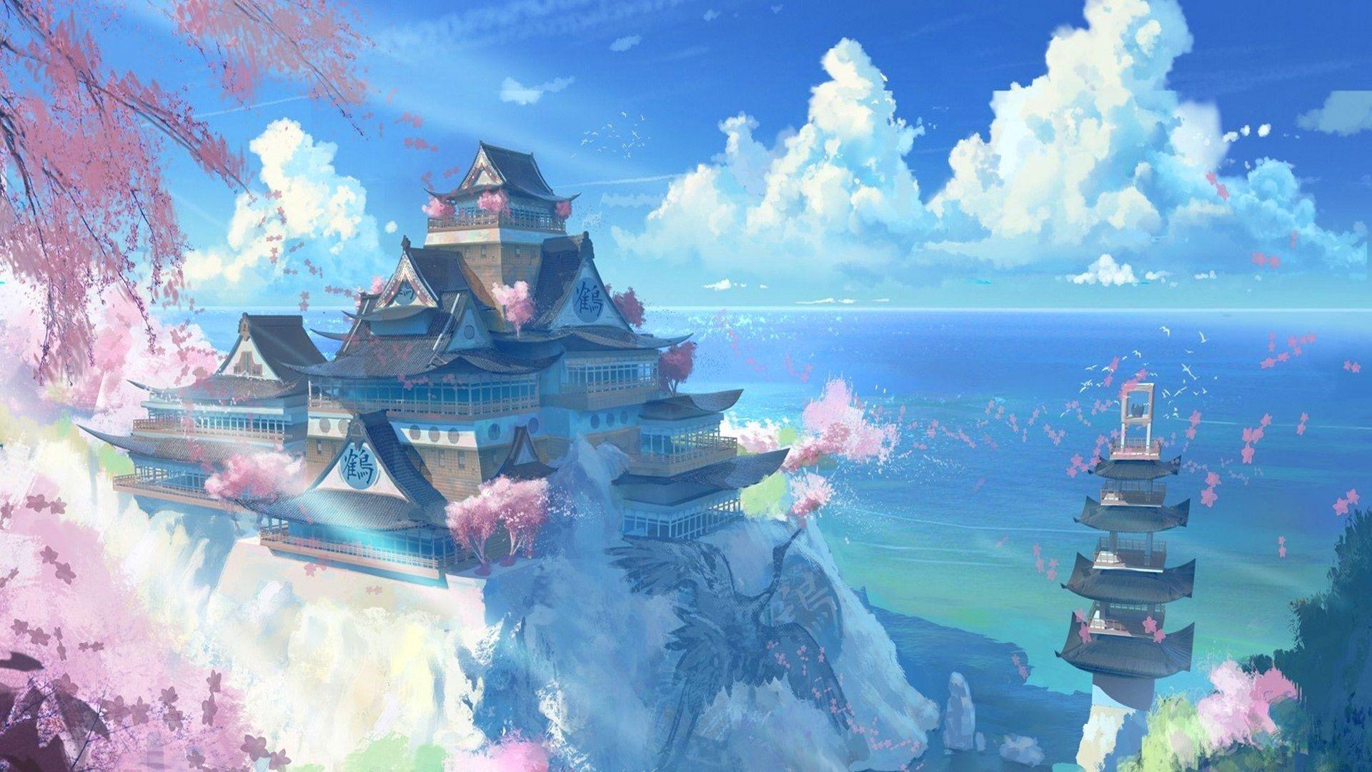 Japanese Anime Desktop Wallpapers Top Free Japanese Anime Desktop Backgrounds Wallpaperaccess