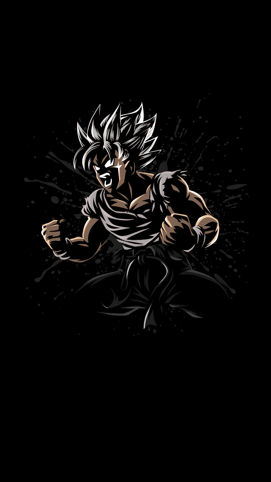 Black Amoled Dragon Ball Wallpapers Top Free Black Amoled Dragon Ball Backgrounds Wallpaperaccess