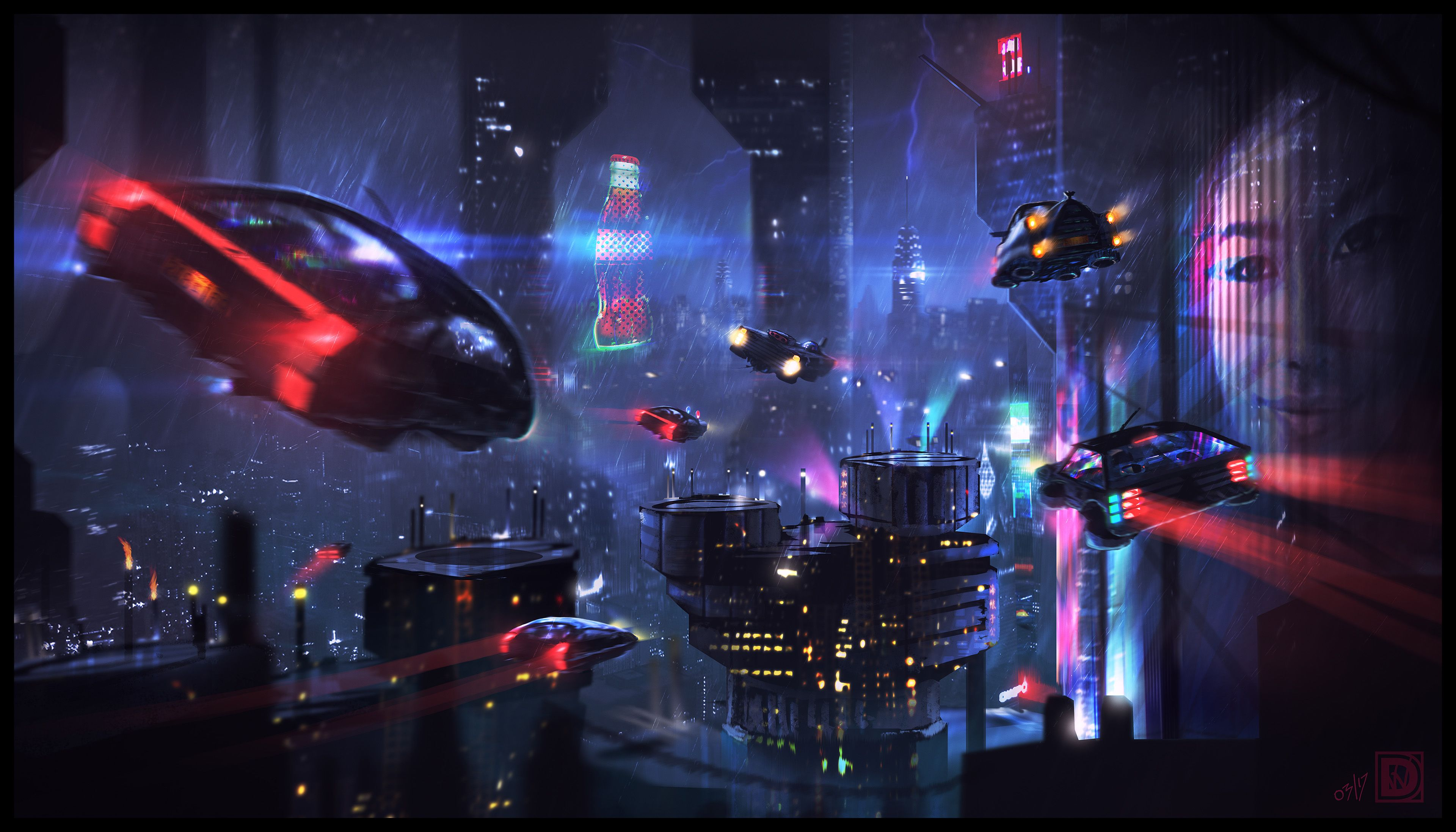 Blade Runner Hd Wallpapers Top Free Blade Runner Hd Backgrounds