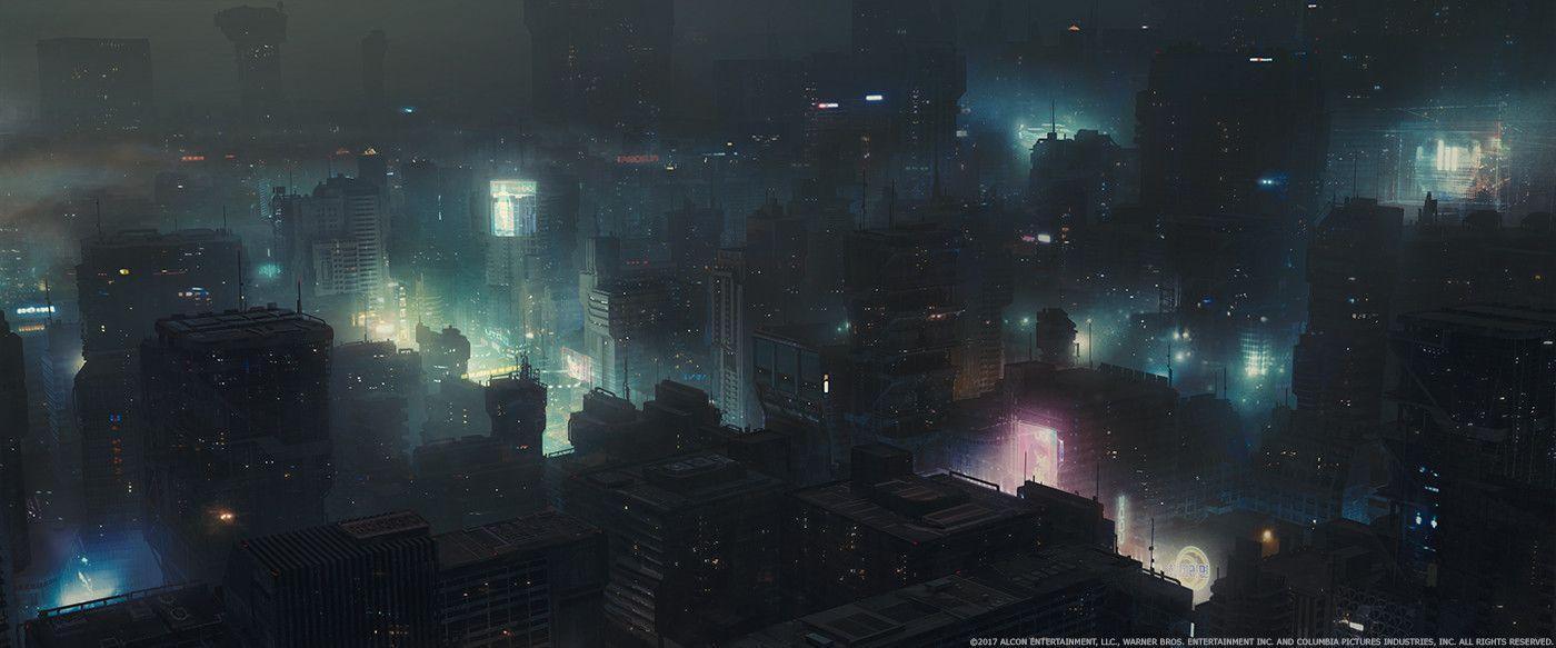 Blade Runner City Wallpapers Top Free Blade Runner City Backgrounds Wallpaperaccess