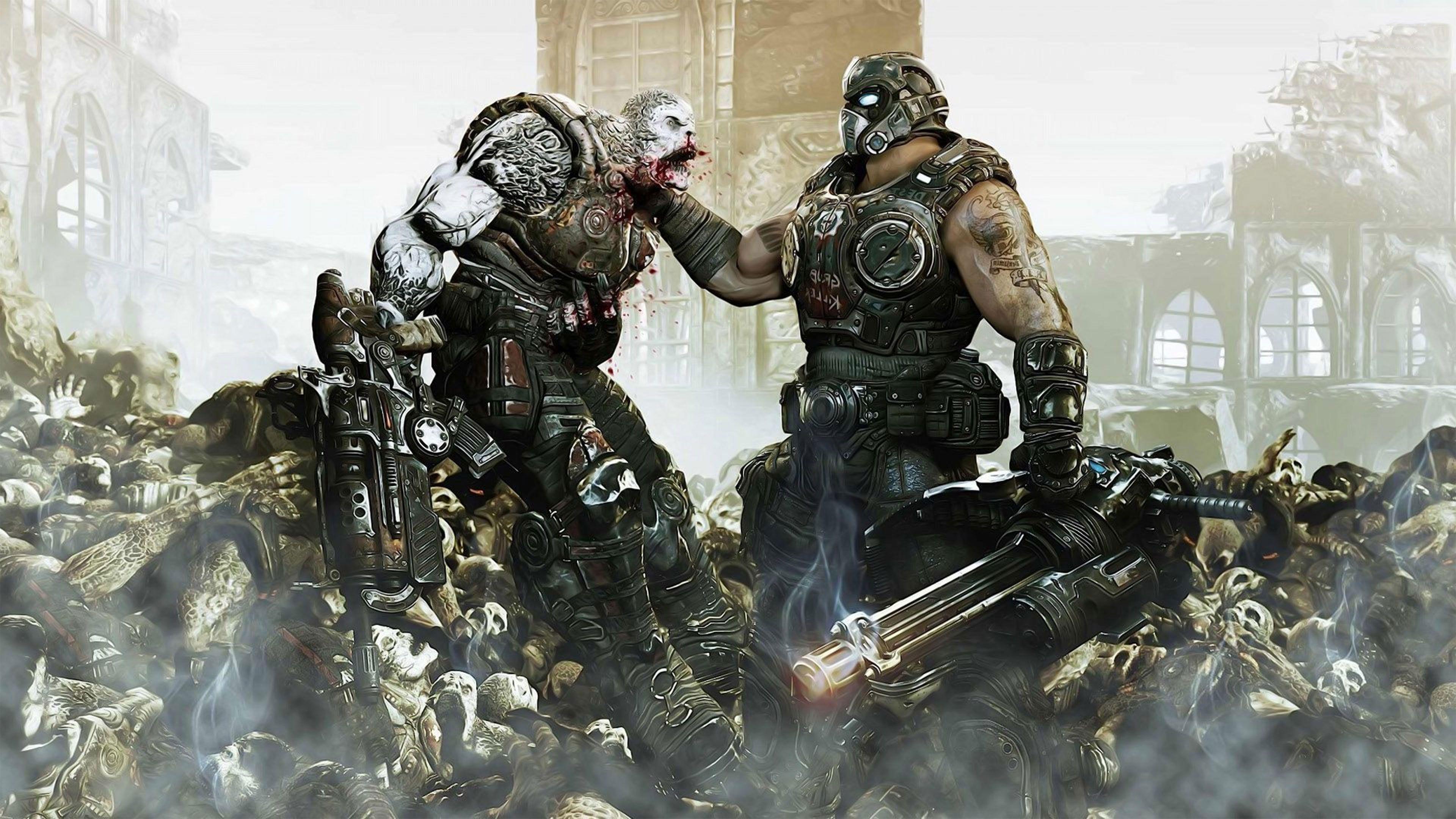 Gears Of War Wallpapers Top Free Gears Of War Backgrounds