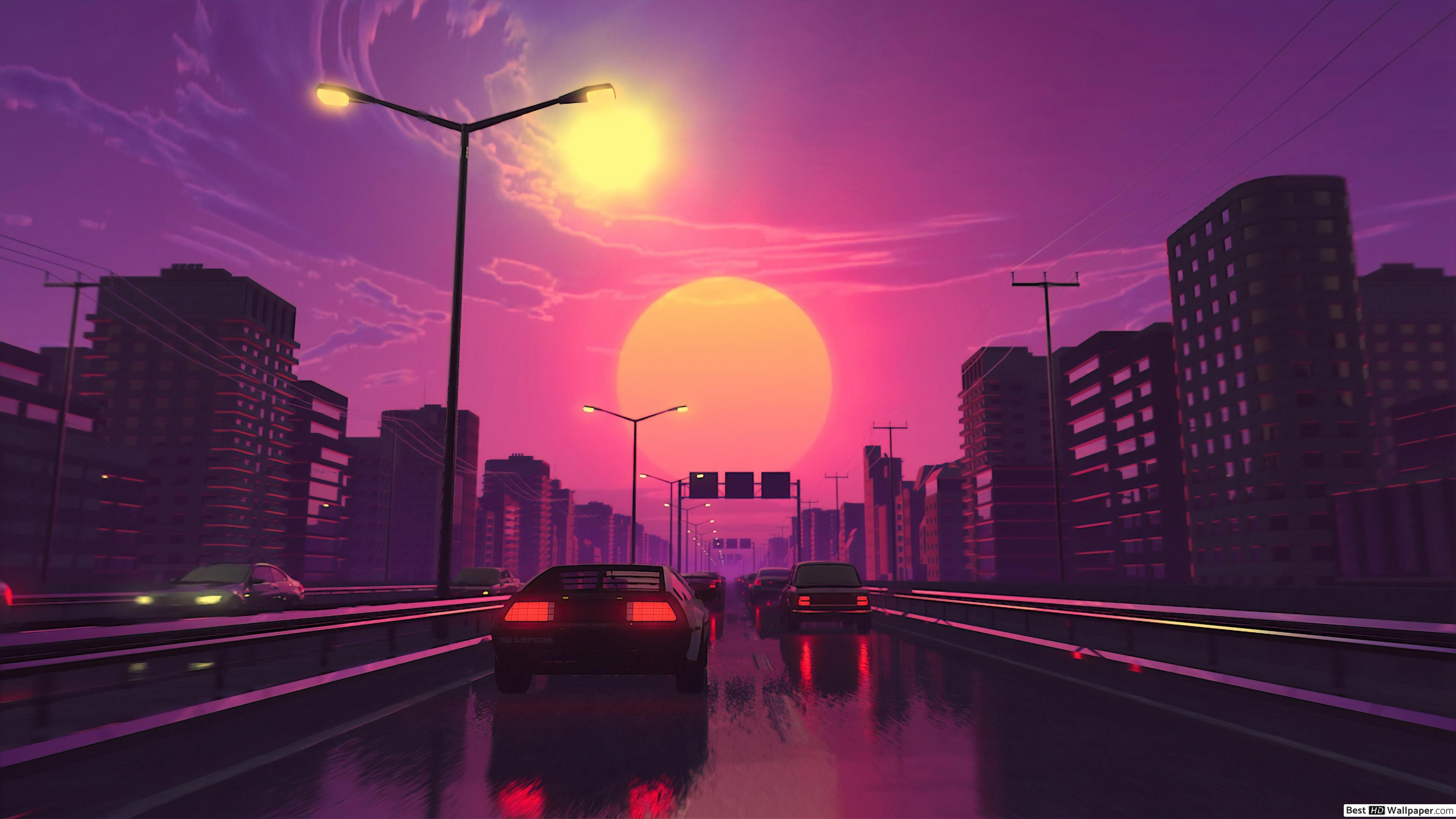 Retro City Wallpapers Top Free Retro City Backgrounds Wallpaperaccess