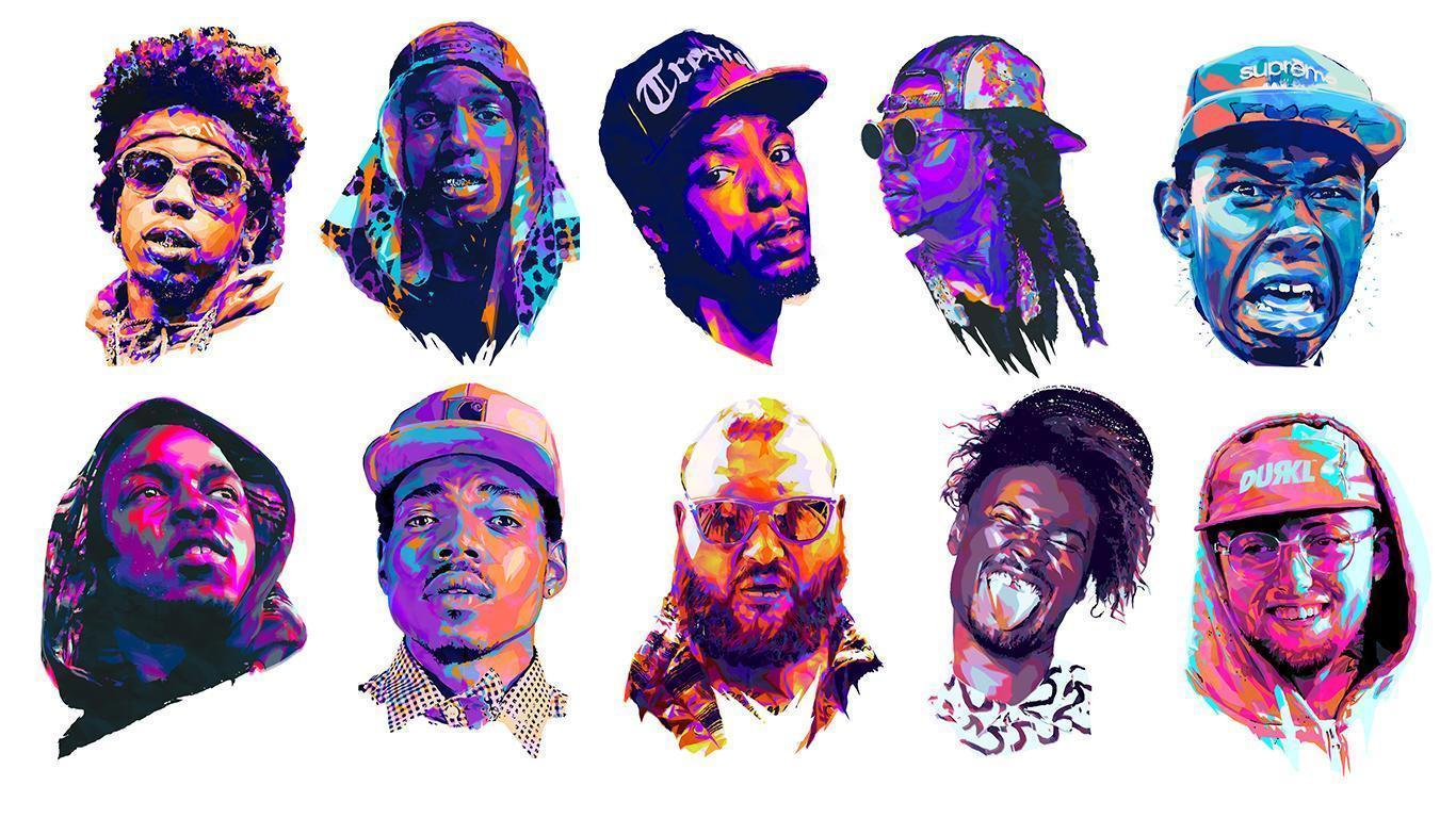 Rapper Wallpapers Top Free Rapper Backgrounds Wallpaperaccess
