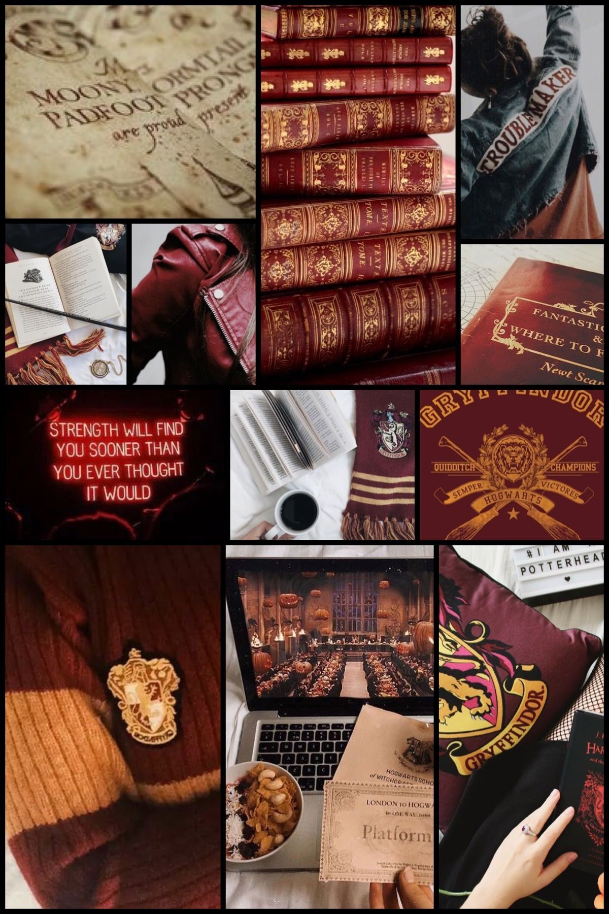 gryffindor aesthetic wallpapers top free gryffindor aesthetic backgrounds wallpaperaccess gryffindor aesthetic wallpapers top