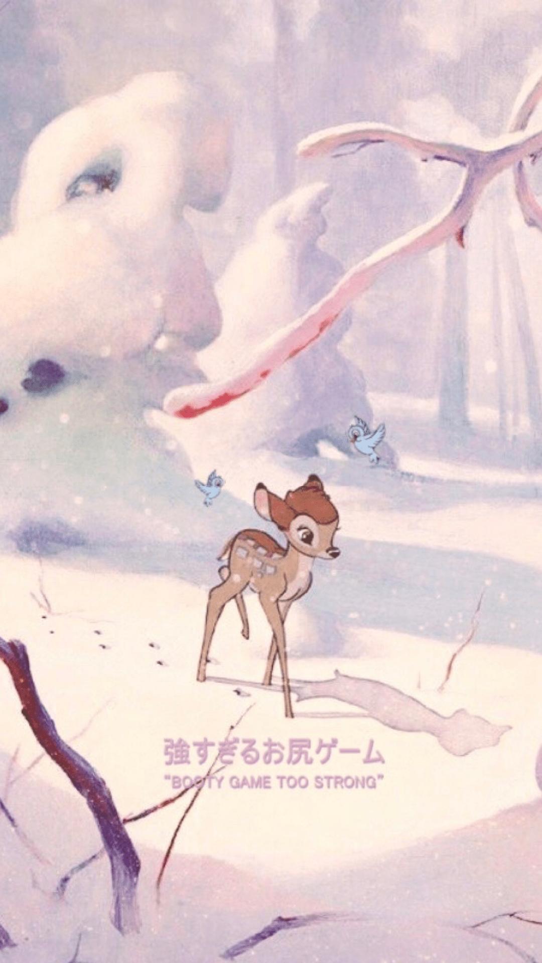 Bambi Iphone Wallpapers Top Free Bambi Iphone Backgrounds Wallpaperaccess