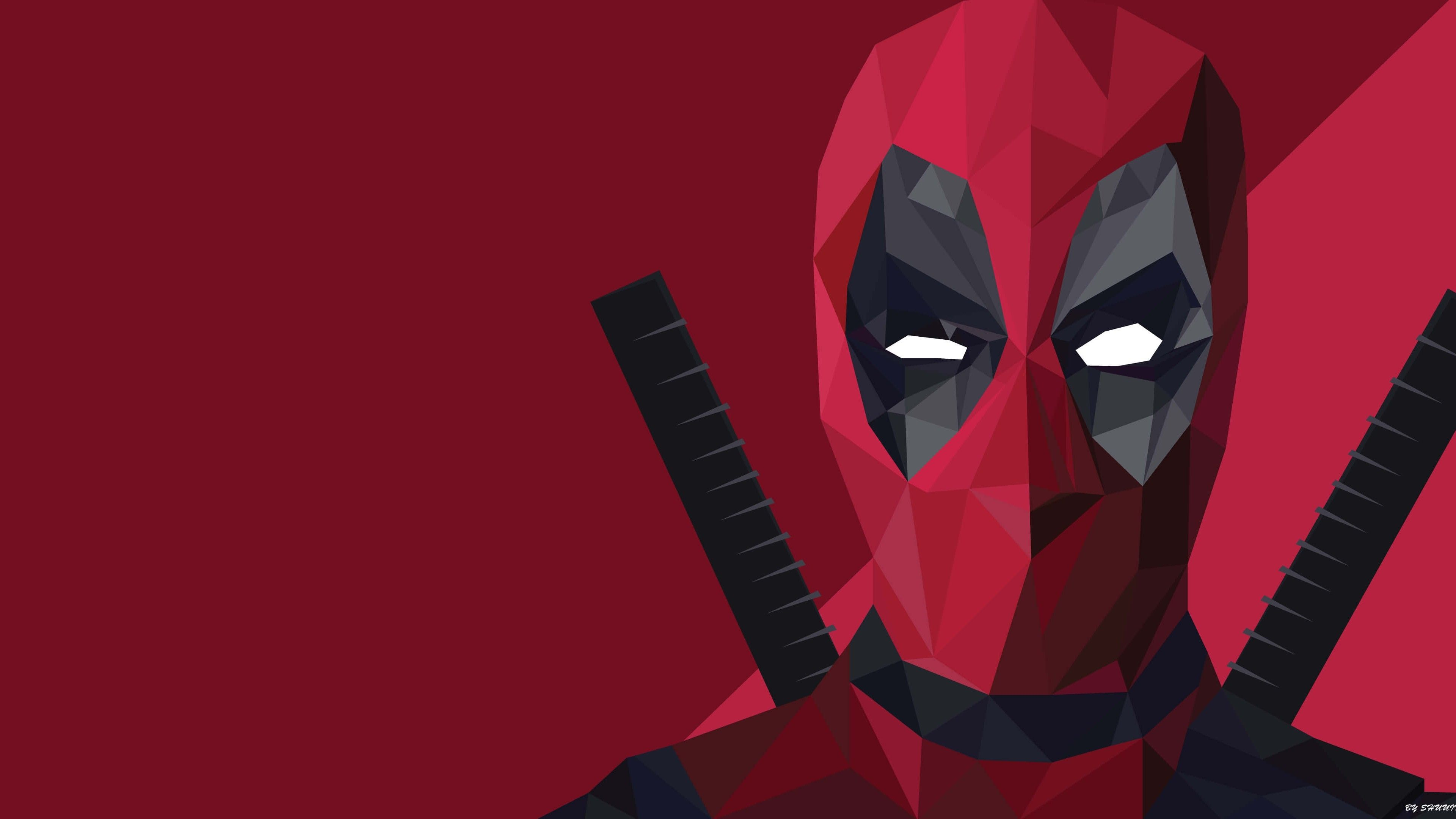 Low Poly Deadpool Wallpapers Top Free Low Poly Deadpool