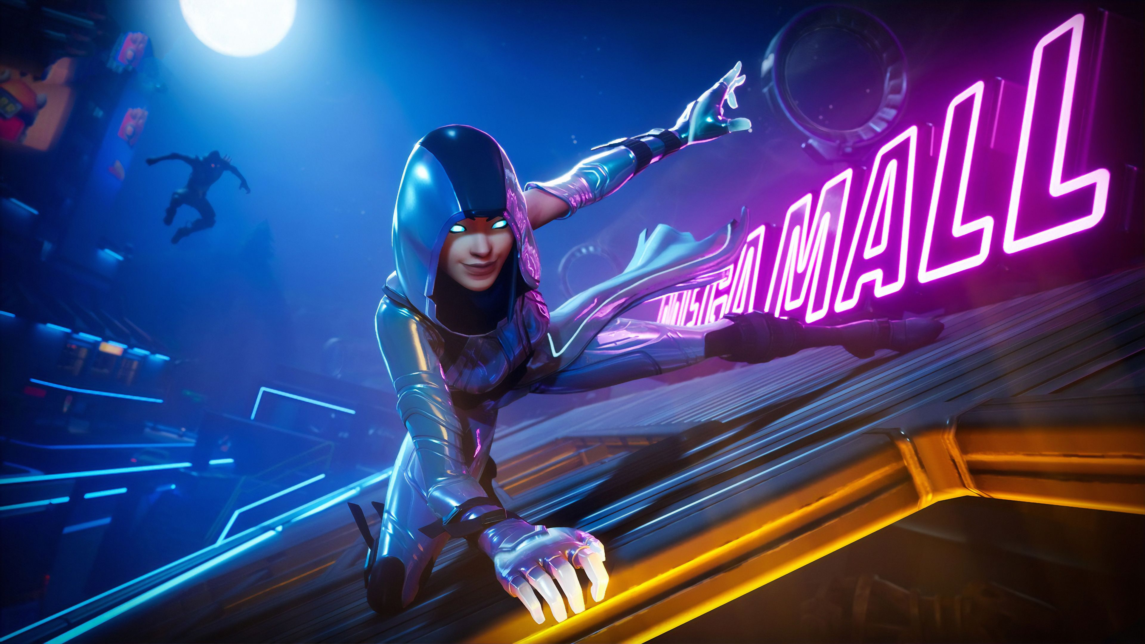 Games Neon Wallpapers Top Free Games Neon Backgrounds Wallpaperaccess