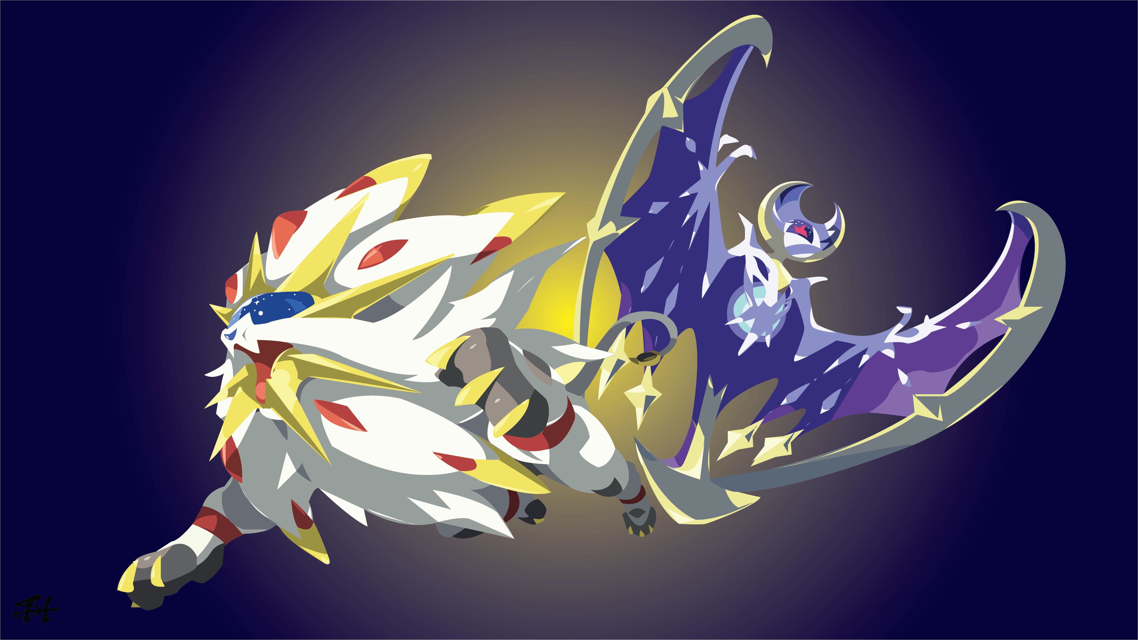 Pokemon Sun And Moon Wallpapers Top Free Pokemon Sun And Moon