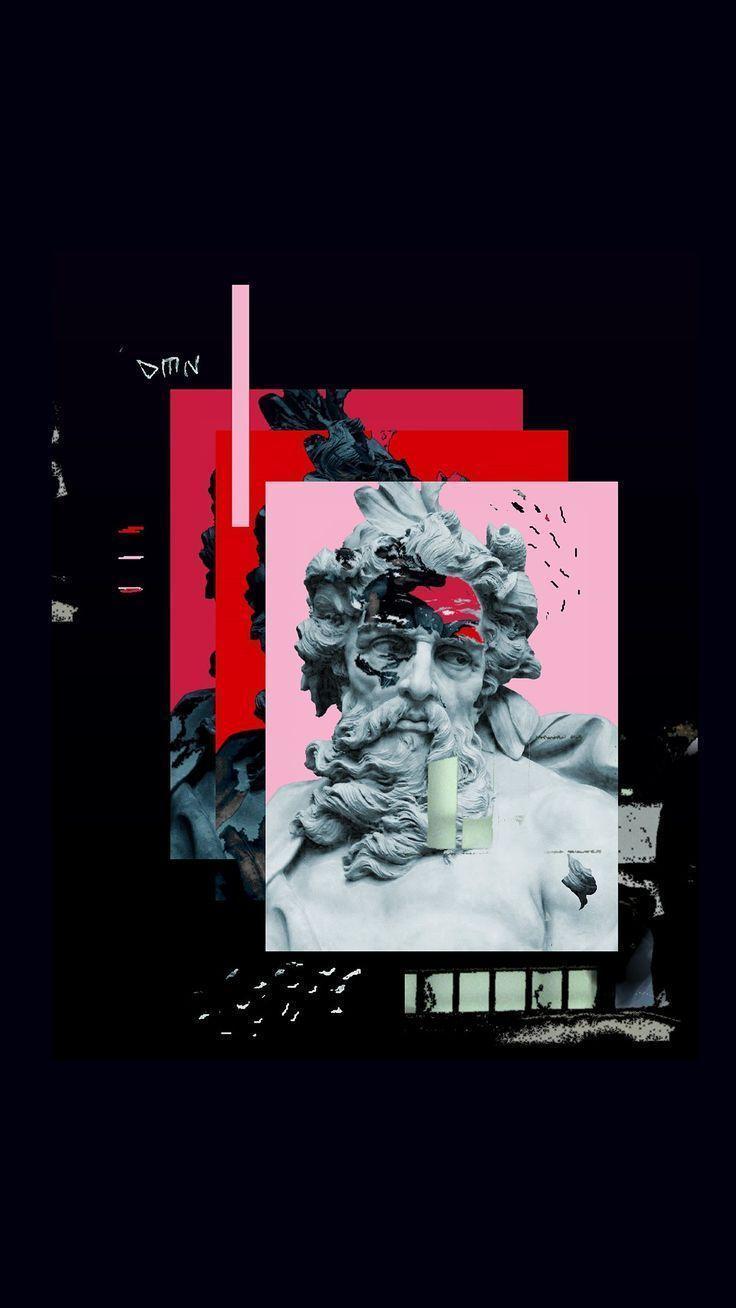 Black Vaporwave Iphone Wallpapers Top Free Black Vaporwave Iphone Backgrounds Wallpaperaccess