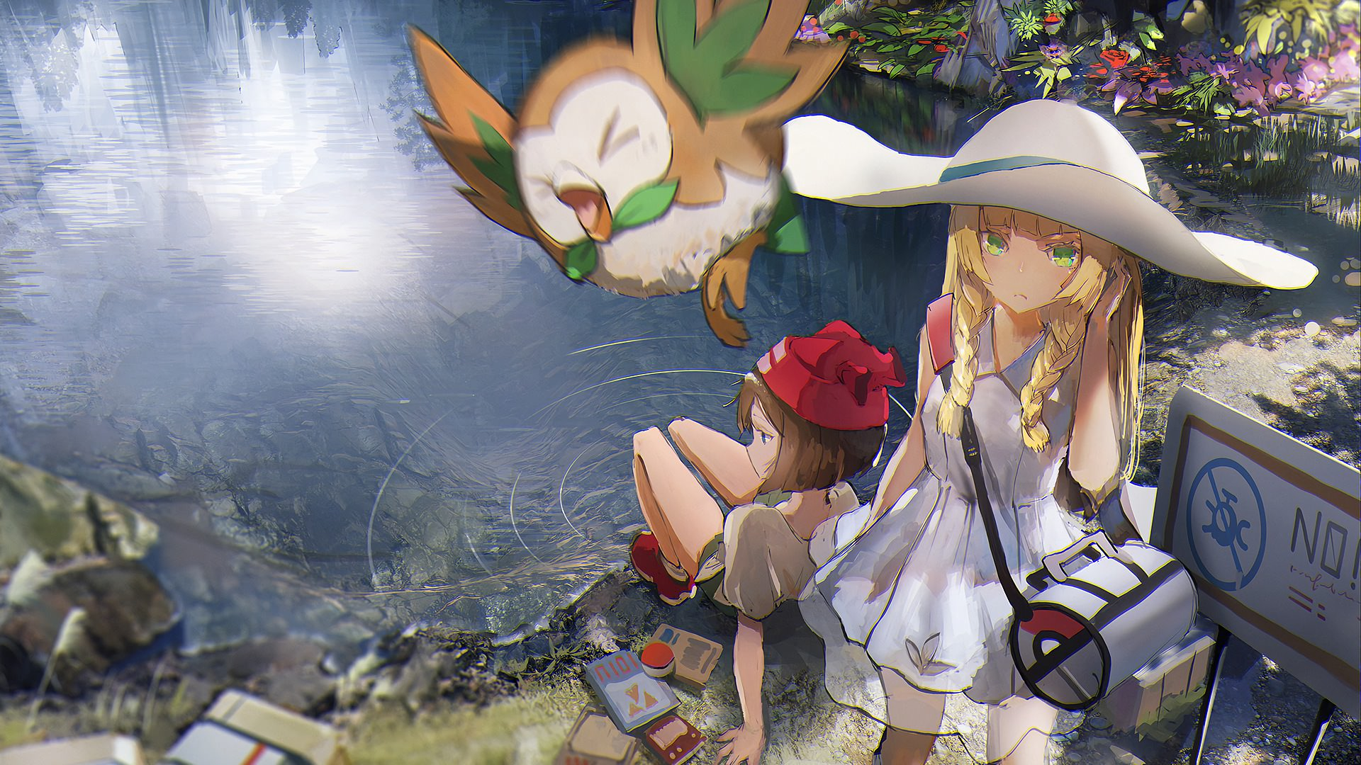 Lillie Pokemon Sun And Moon Wallpapers Top Free Lillie Pokemon