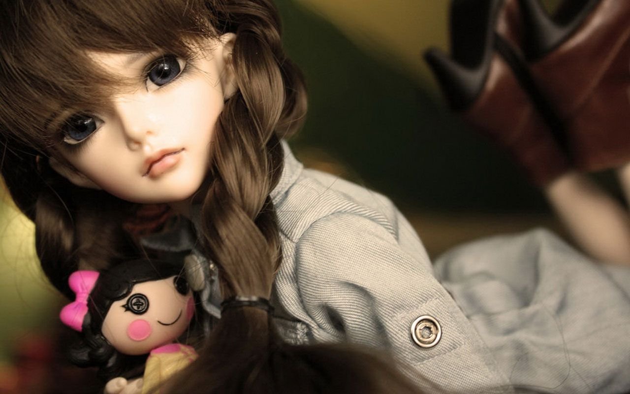 Cute Dolls Wallpapers Top Free Cute Dolls Backgrounds Wallpaperaccess