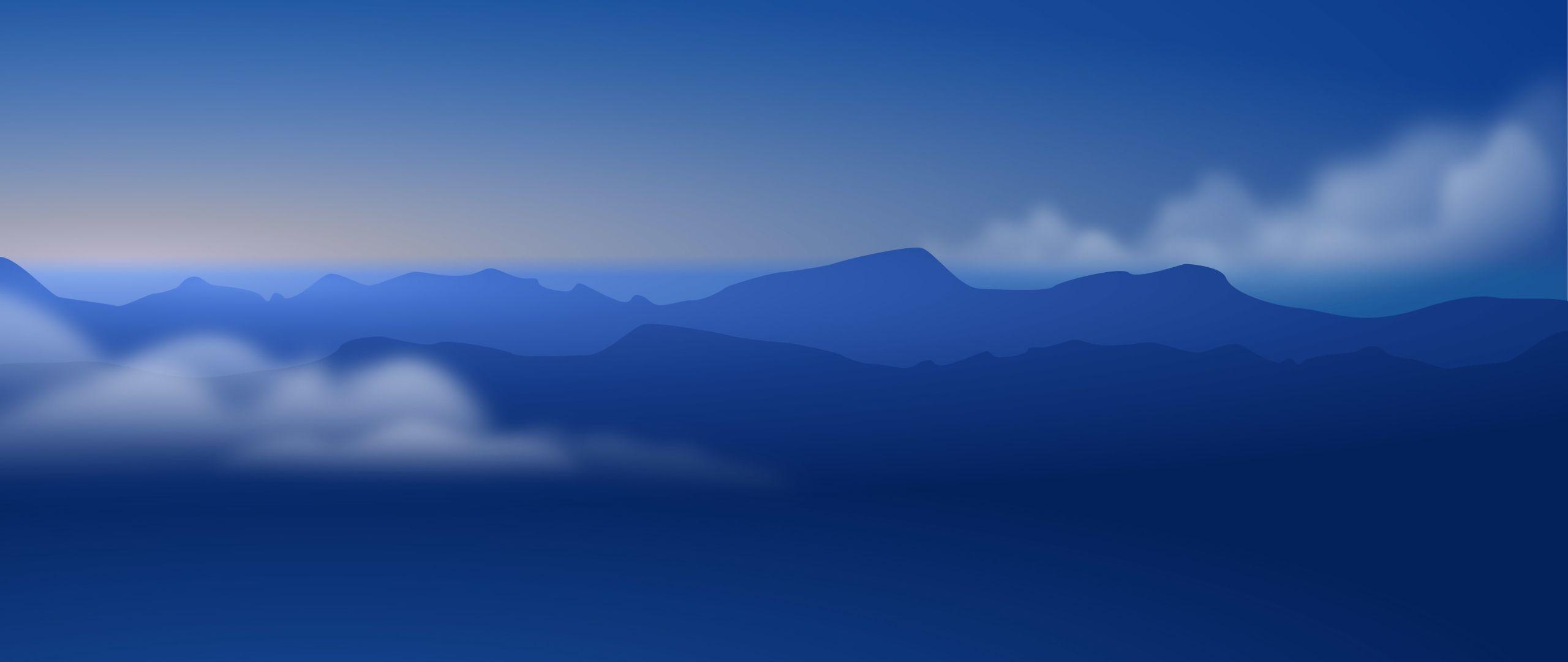 2560x1080 Núi tối giản Hình nền 2560x1080 Độ phân giải, HD