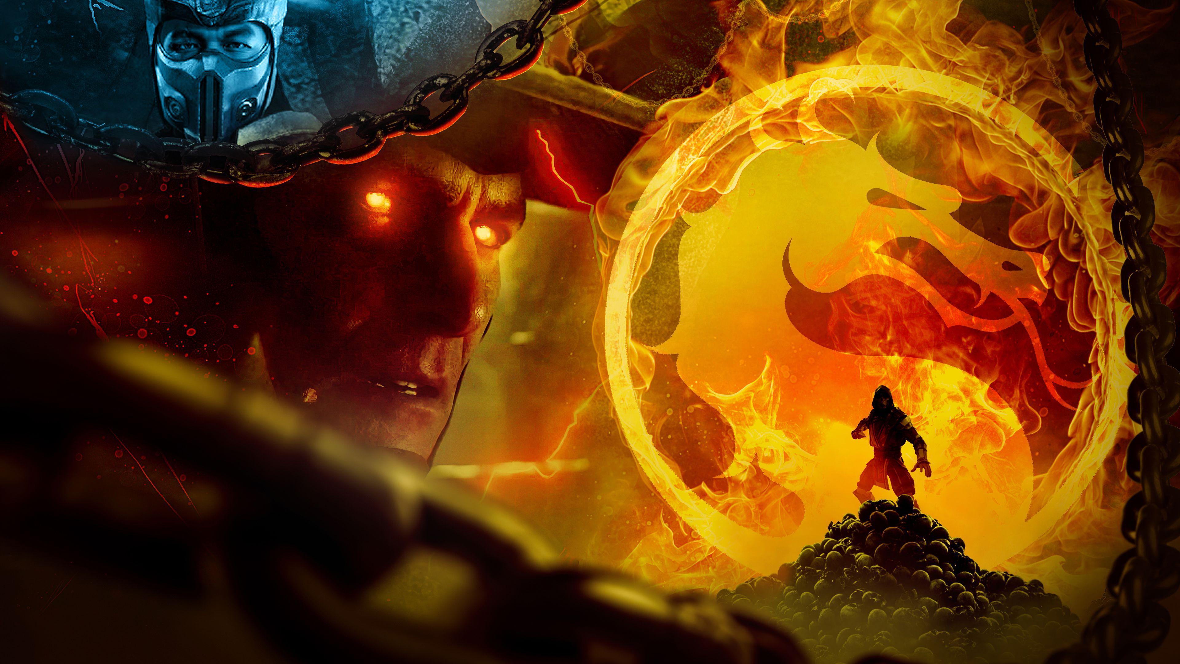 Mortal Kombat 11 4k Wallpapers Top Free Mortal Kombat 11 4k