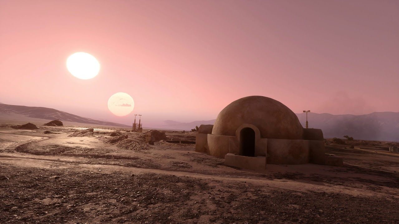Tatooine Wallpapers Top Free Tatooine Backgrounds Wallpaperaccess