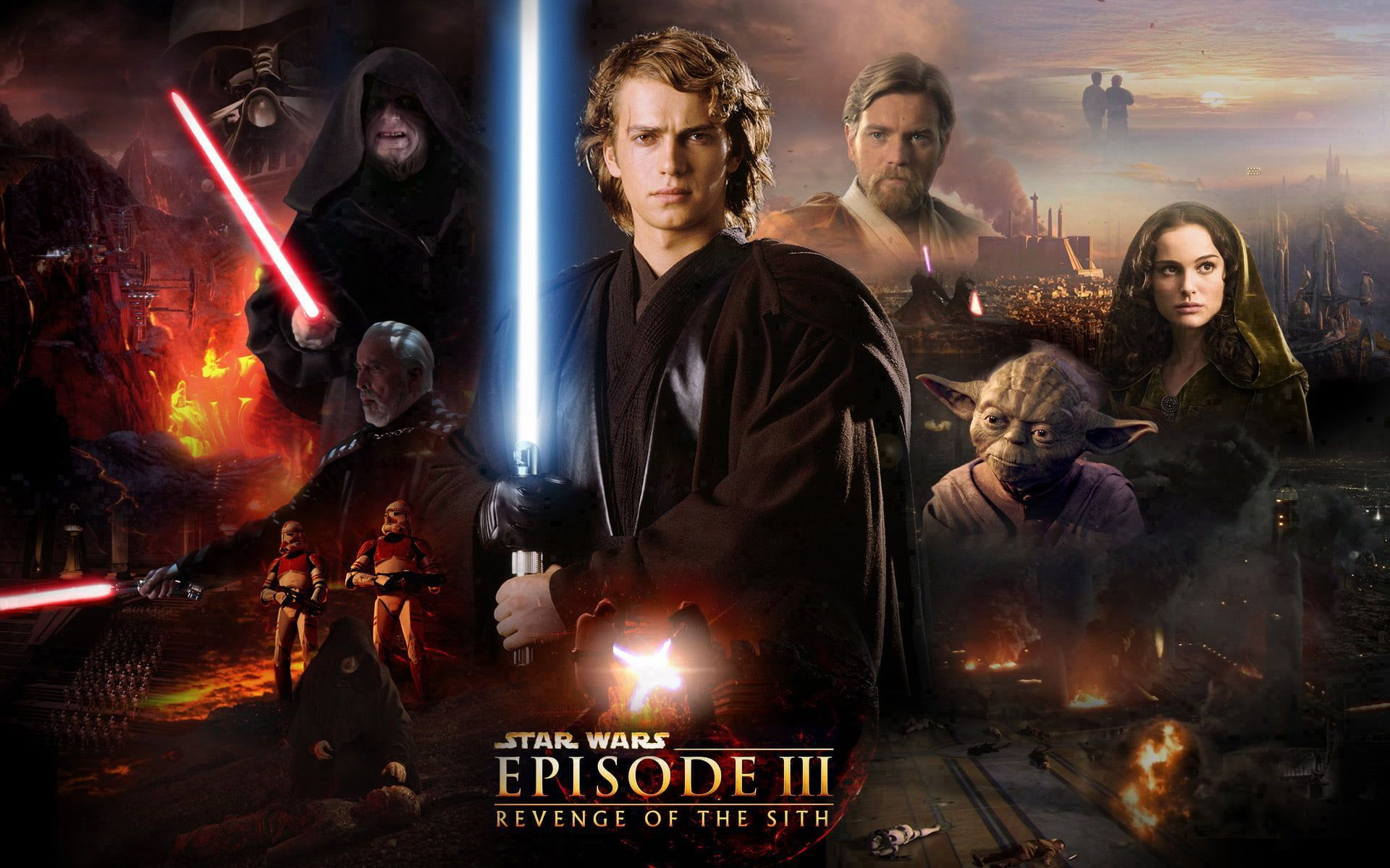 Revenge Of The Sith Wallpapers Top Free Revenge Of The Sith Backgrounds Wallpaperaccess