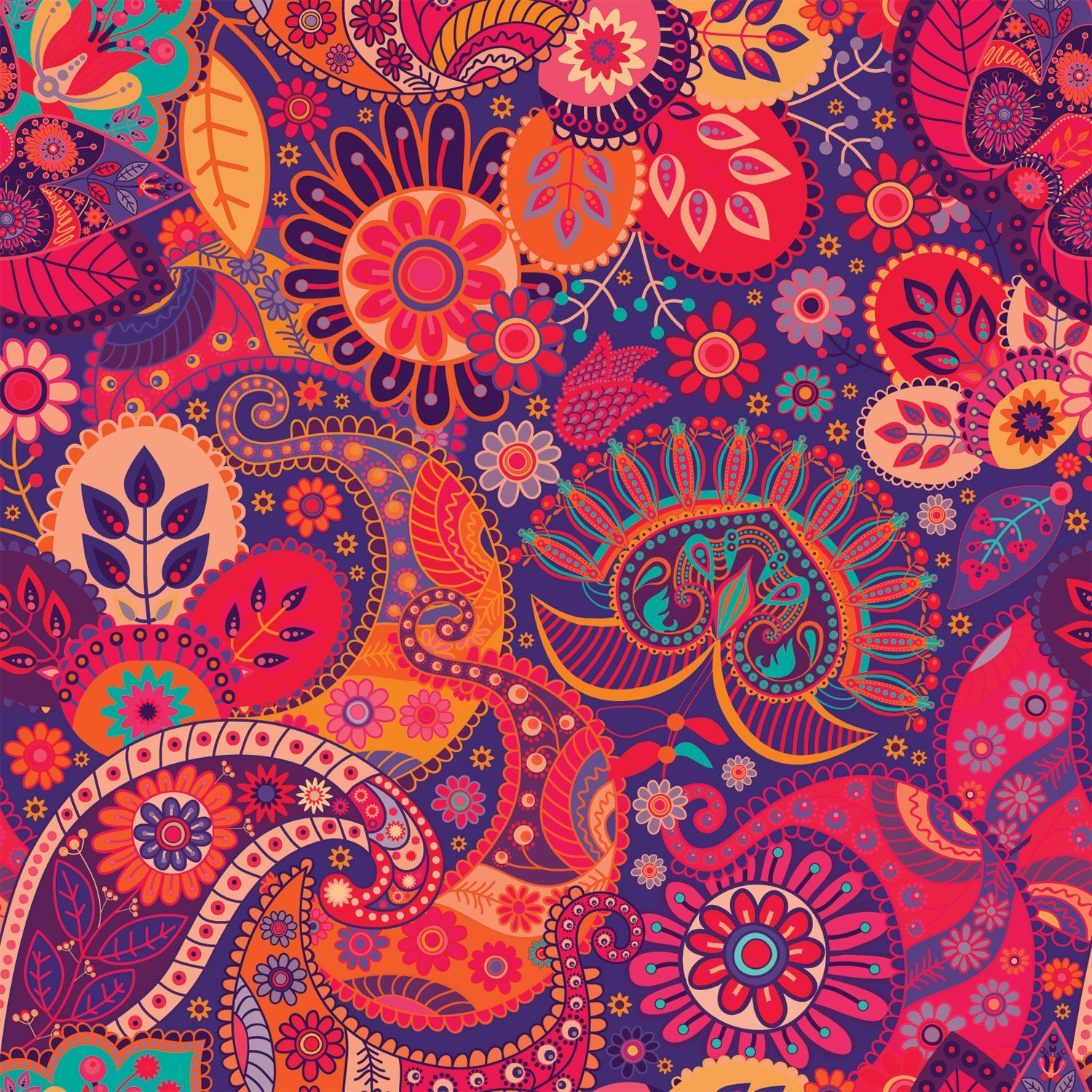 Top Free Paisley Backgrounds