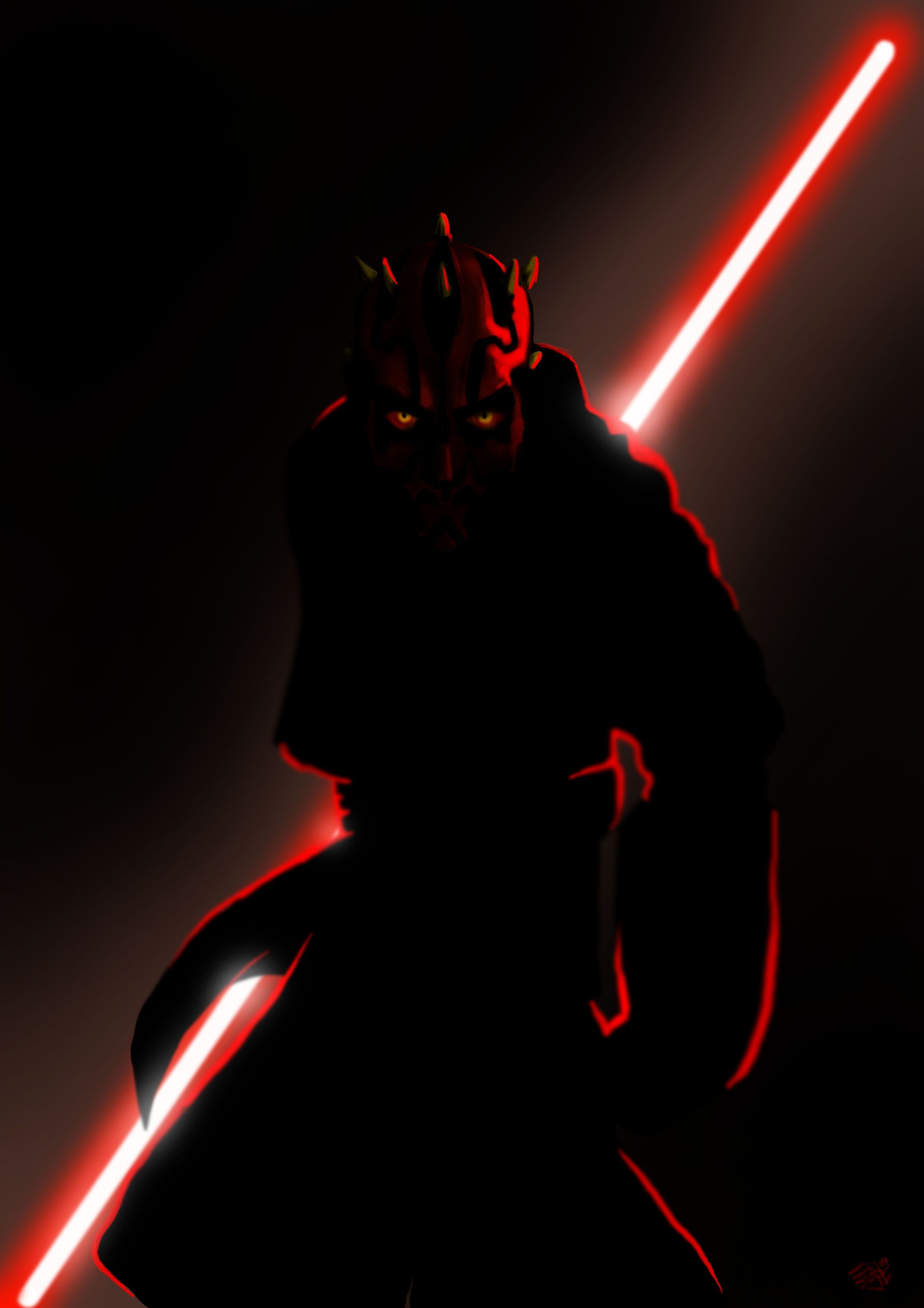 Star Wars Darth Maul Wallpapers Top Free Star Wars Darth Maul Backgrounds Wallpaperaccess