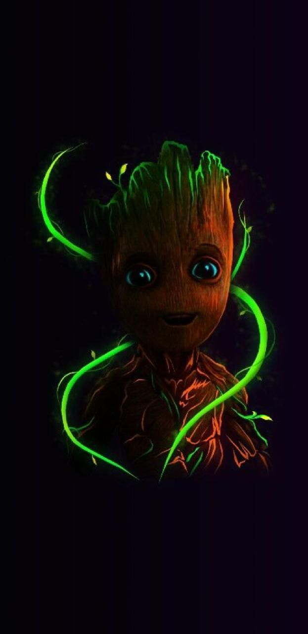 Groot Phone Wallpapers Top Free Groot Phone Backgrounds Wallpaperaccess