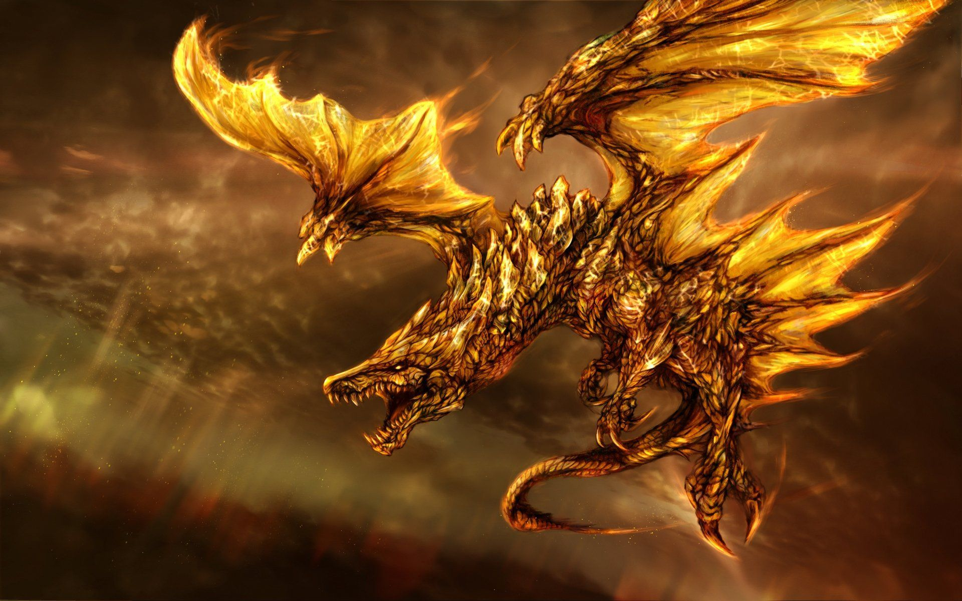 Black And Gold Dragon Wallpapers Top Free Black And Gold Dragon