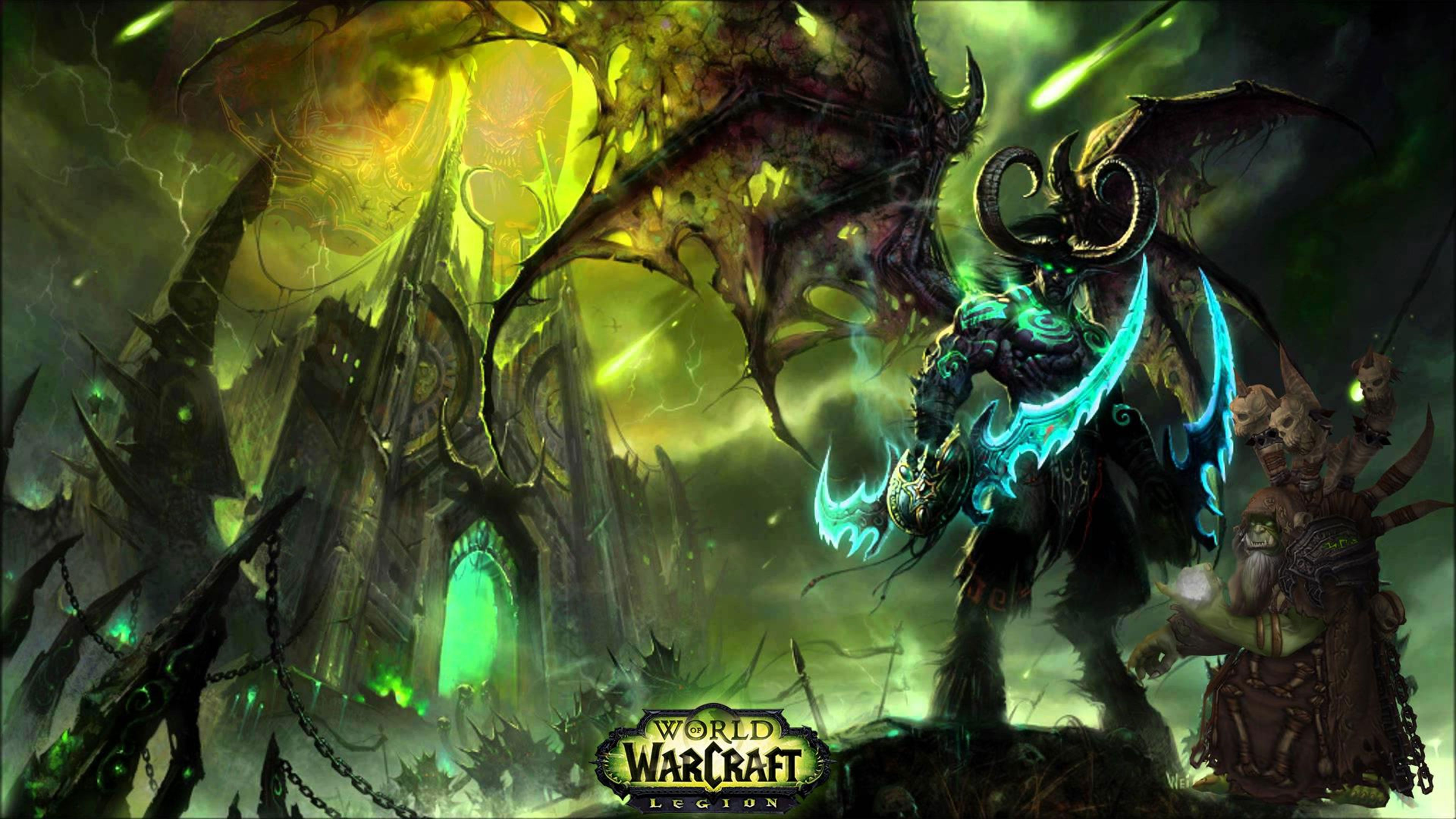 Wow Legion 4k Wallpapers Top Free Wow Legion 4k Backgrounds