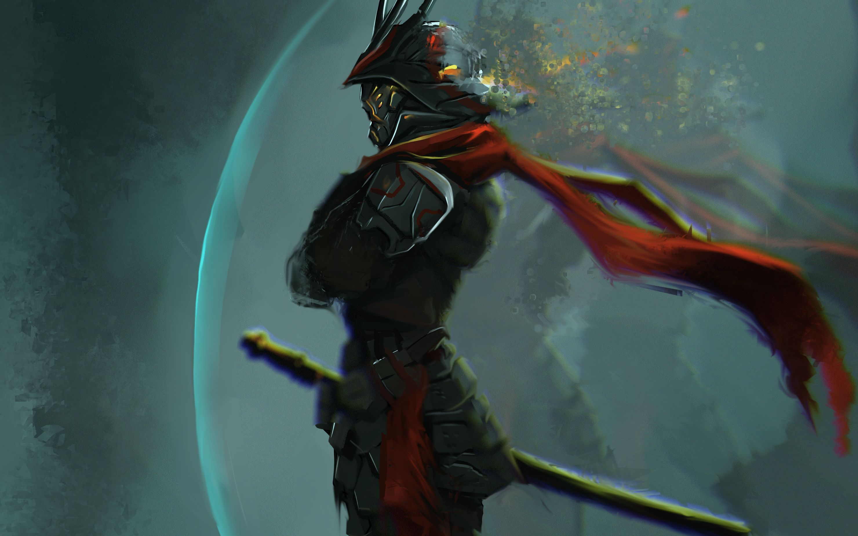 Cyber Samurai Wallpapers Top Free Cyber Samurai Backgrounds Wallpaperaccess