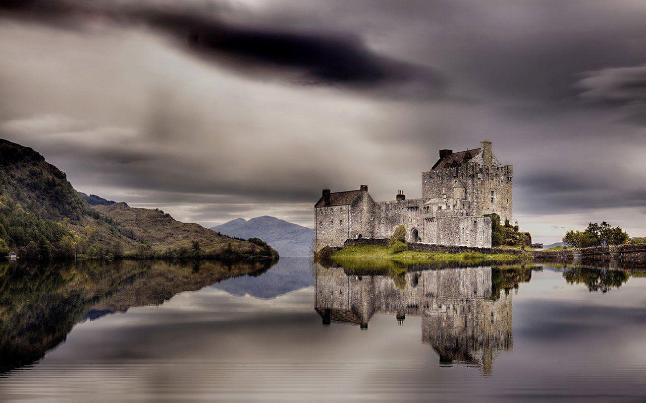 Castle Scotland Landscape Wallpapers Top Free Castle