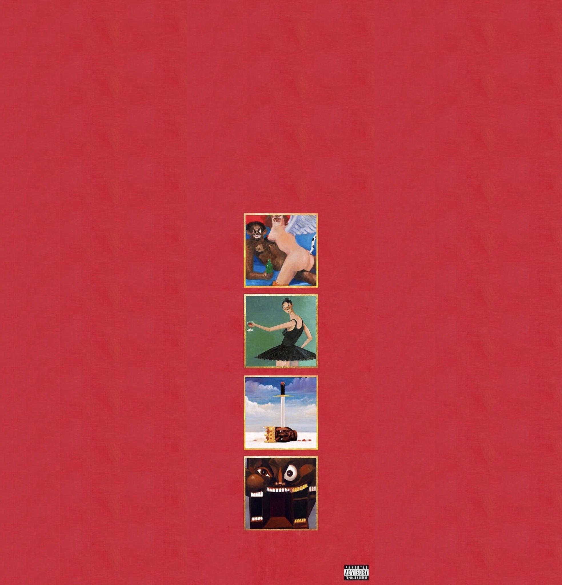 My Beautiful Dark Twisted Fantasy Wallpapers Top Free My
