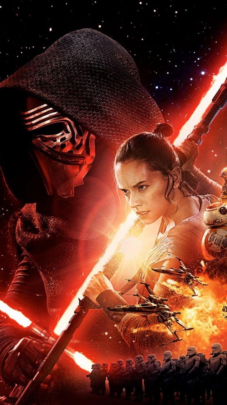 Rey Force Awakens Iphone Wallpapers Top Free Rey Force Awakens