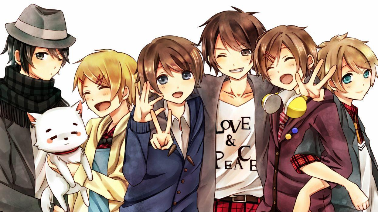 Anime Group Wallpapers Top Free Anime Group Backgrounds Wallpaperaccess