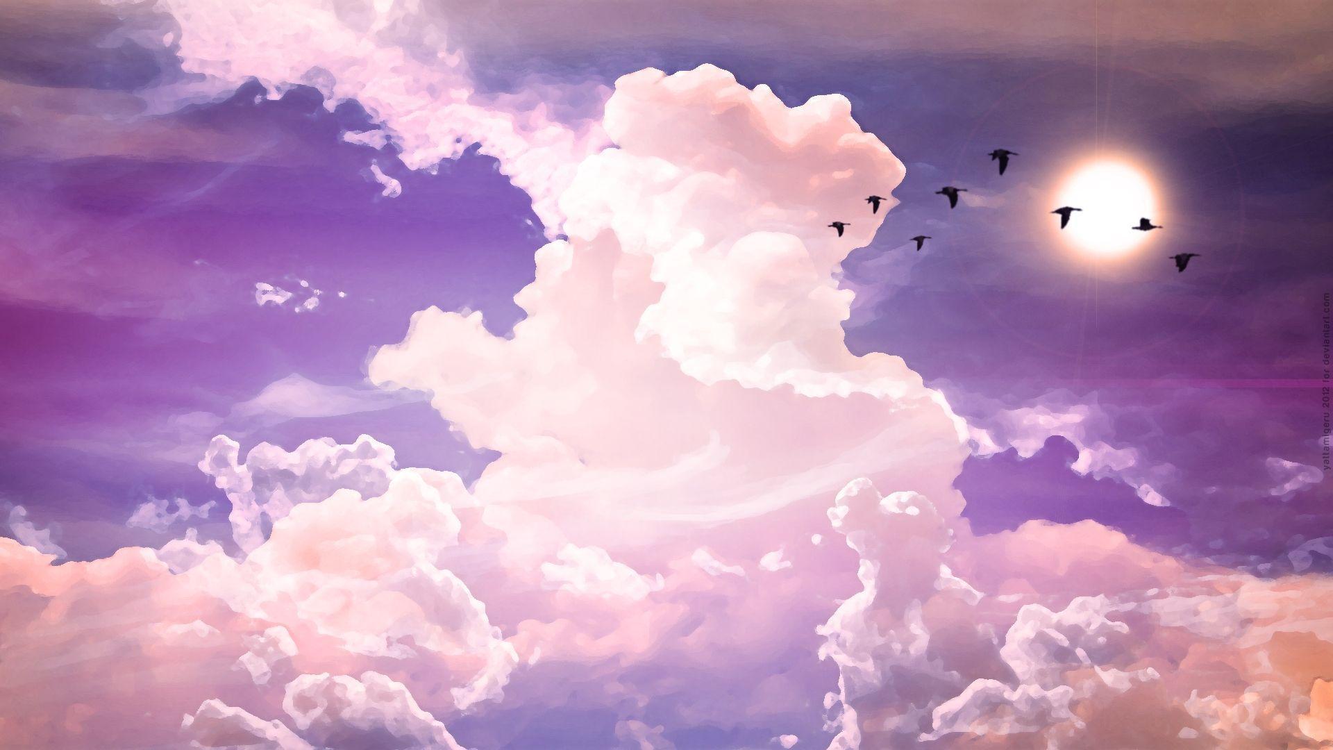 Aesthetic Sky Desktop Wallpapers Top Free Aesthetic Sky Desktop Backgrounds Wallpaperaccess