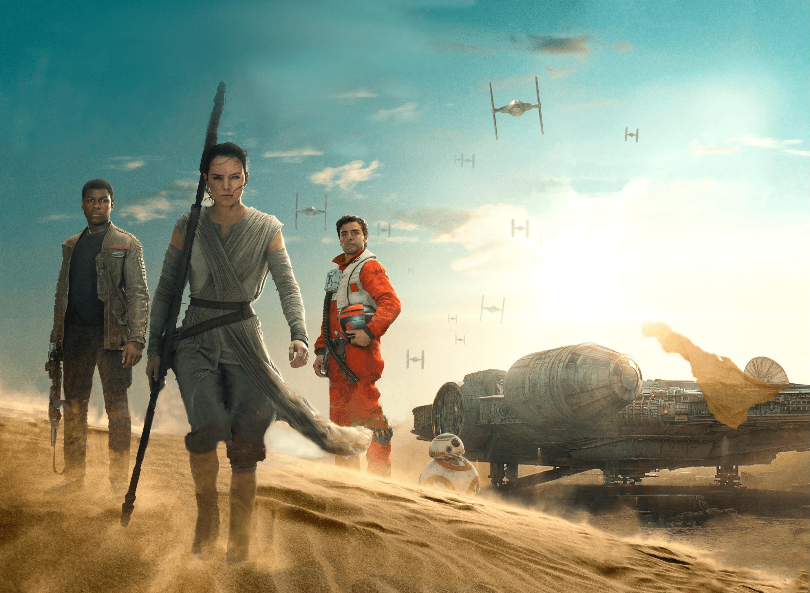 Rey Star Wars Wallpapers Top Free Rey Star Wars Backgrounds Wallpaperaccess