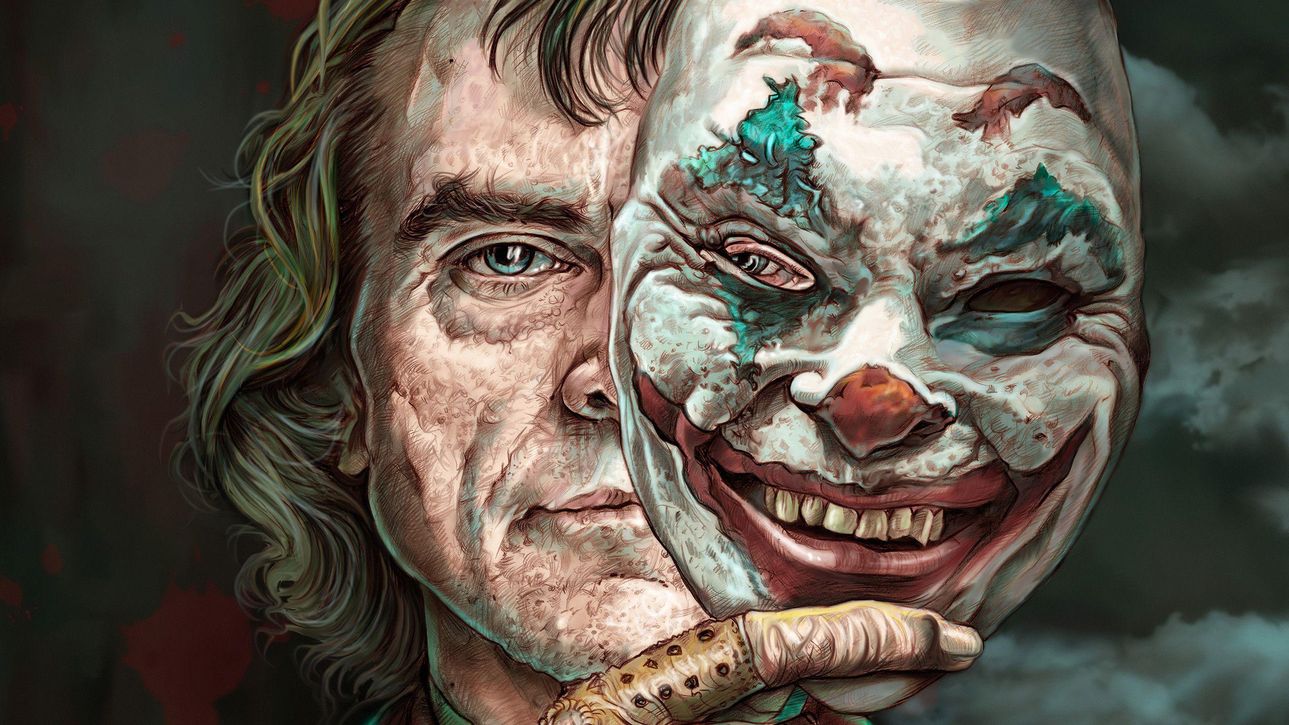 Joker Face Wallpapers Top Free Joker Face Backgrounds Wallpaperaccess