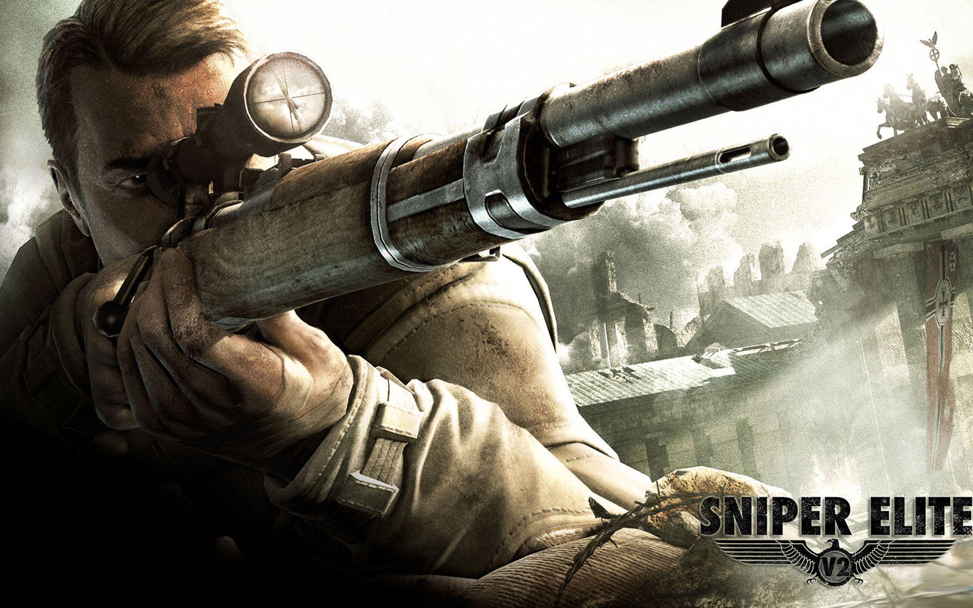 Sniper Elite V2 Wallpapers Top Free Sniper Elite V2 Backgrounds Wallpaperaccess