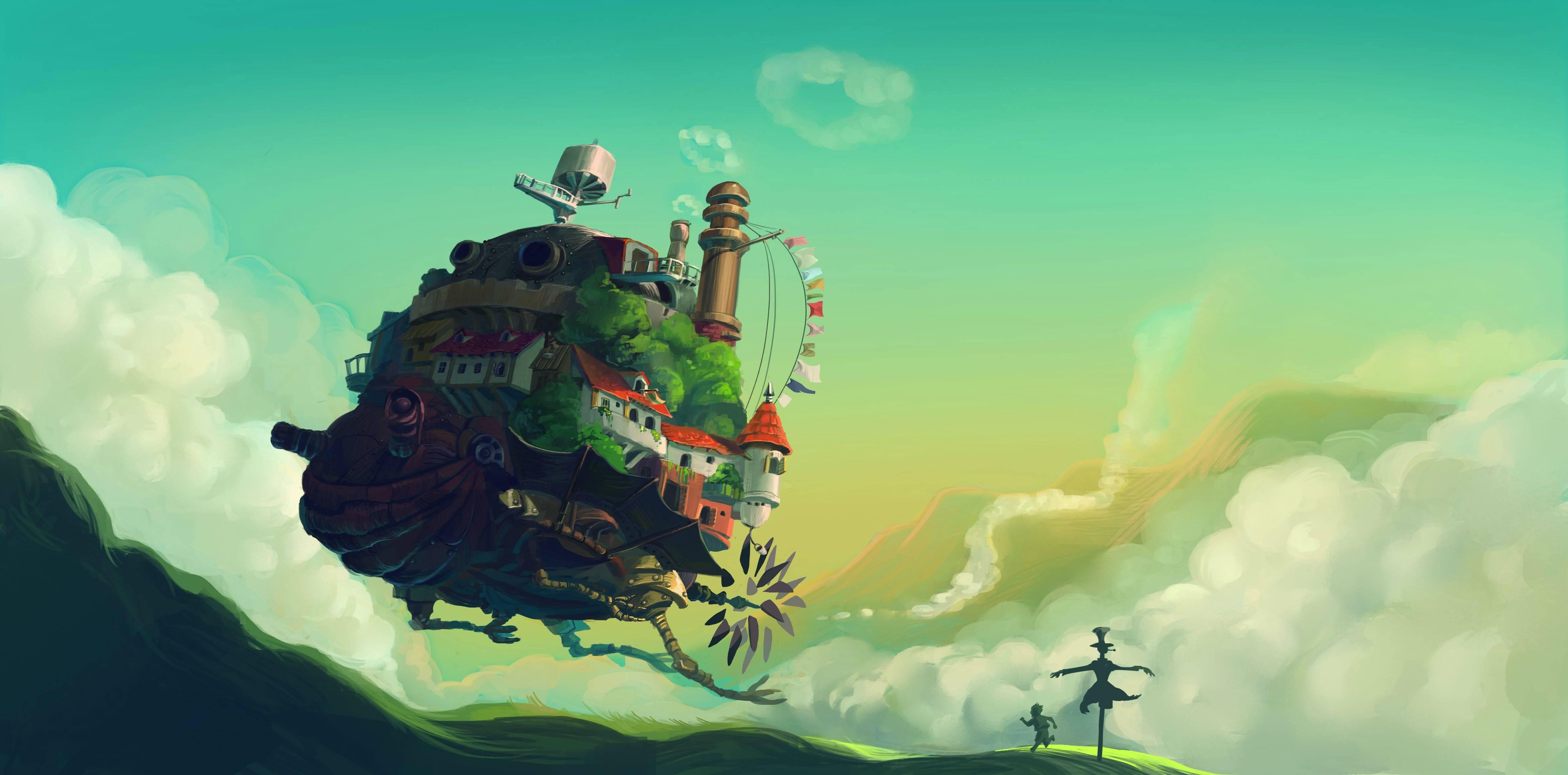 Ghibli Wallpapers Top Free Ghibli Backgrounds