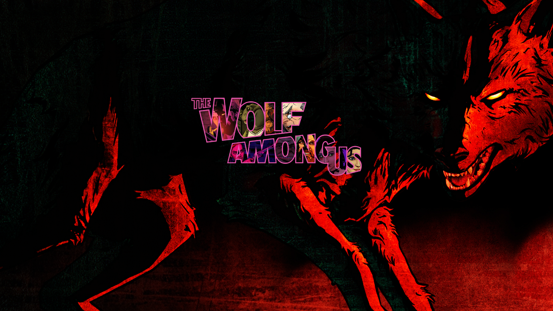 The Wolf Among Us Wallpapers Top Free The Wolf Among Us Backgrounds Wallpaperaccess