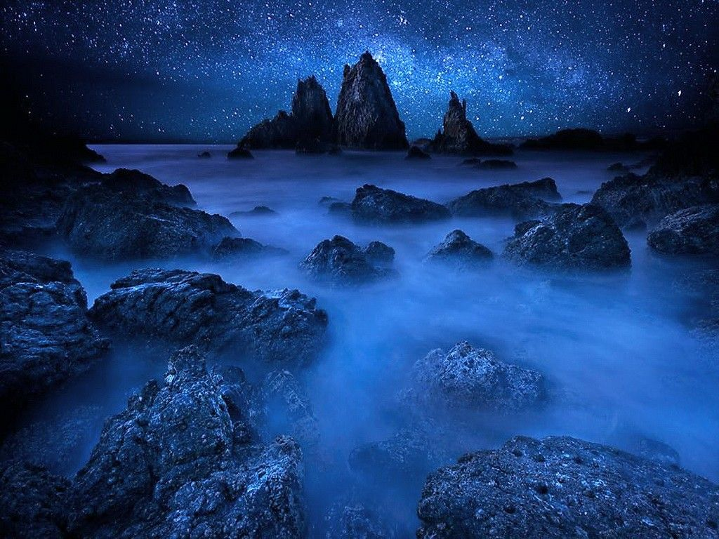 47 Best Free Ocean Waves At Night Wallpapers Wallpaperaccess