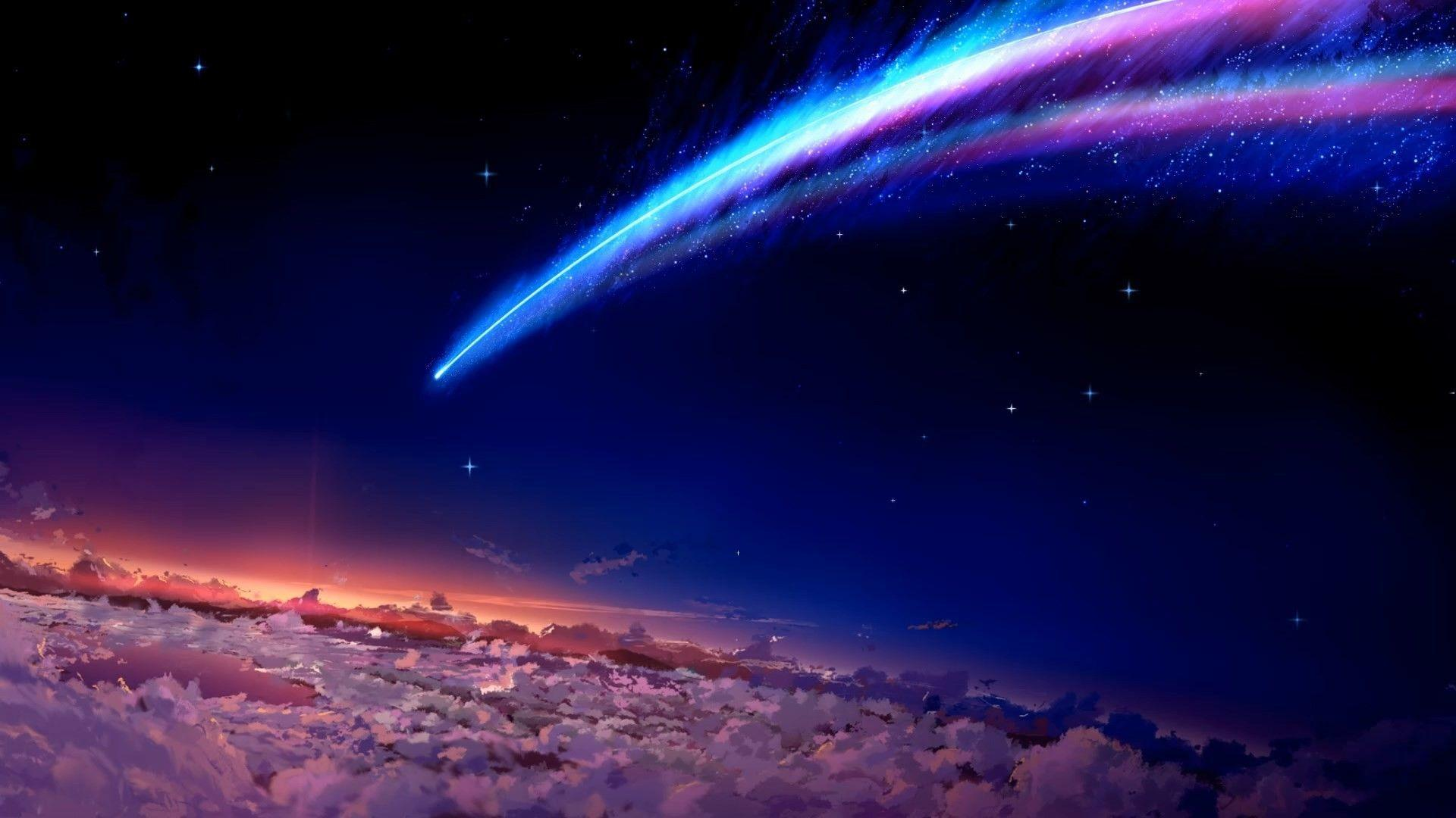 Anime Space Wallpapers Top Free Anime Space Backgrounds Wallpaperaccess