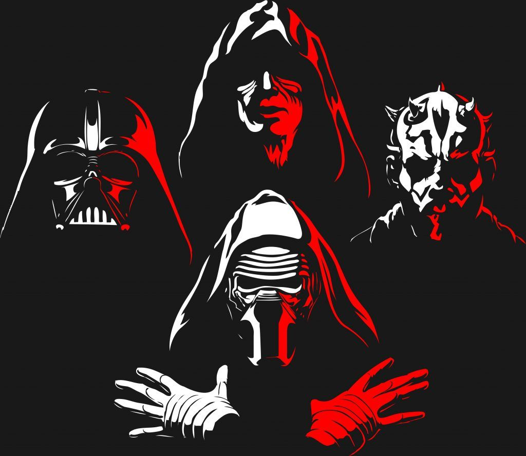 Dark Side Star Wars Wallpapers Top Free Dark Side Star Wars Backgrounds Wallpaperaccess