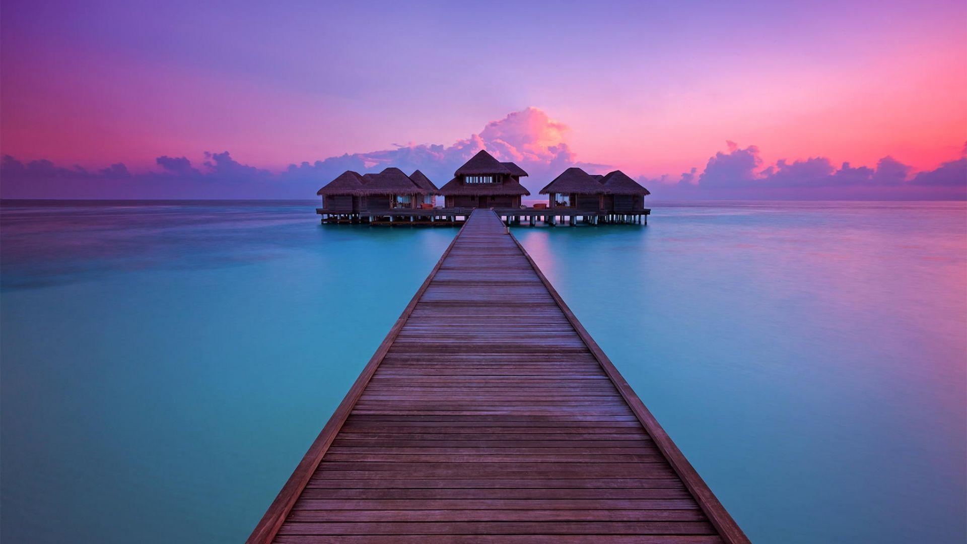 Maldives Sunset Wallpapers - Top Free Maldives Sunset ...