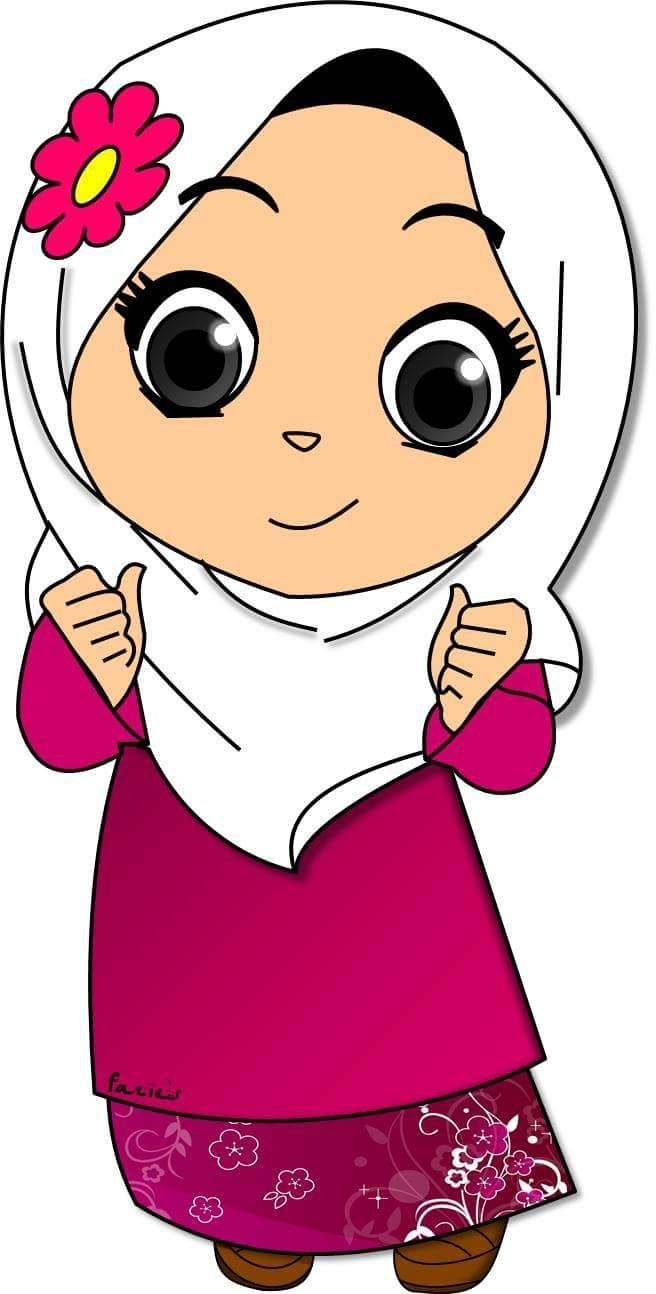 Muslim cartoon wallpapers top free muslim cartoon