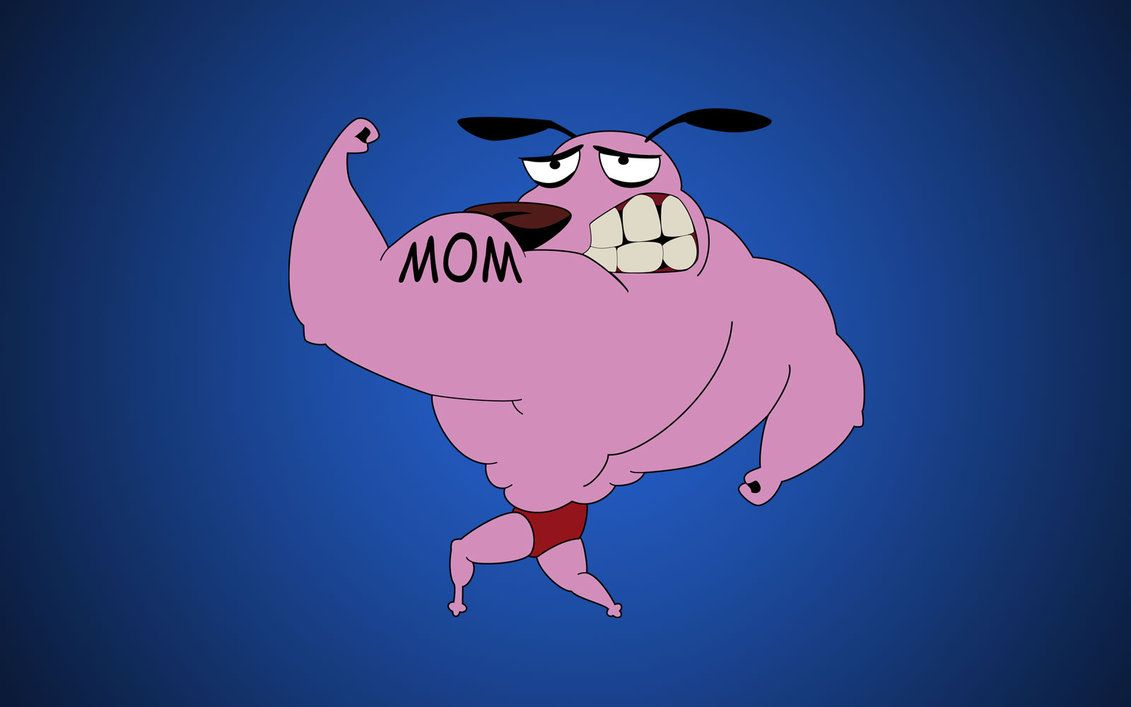 Courage The Cowardly Dog Wallpapers Top Free Courage The