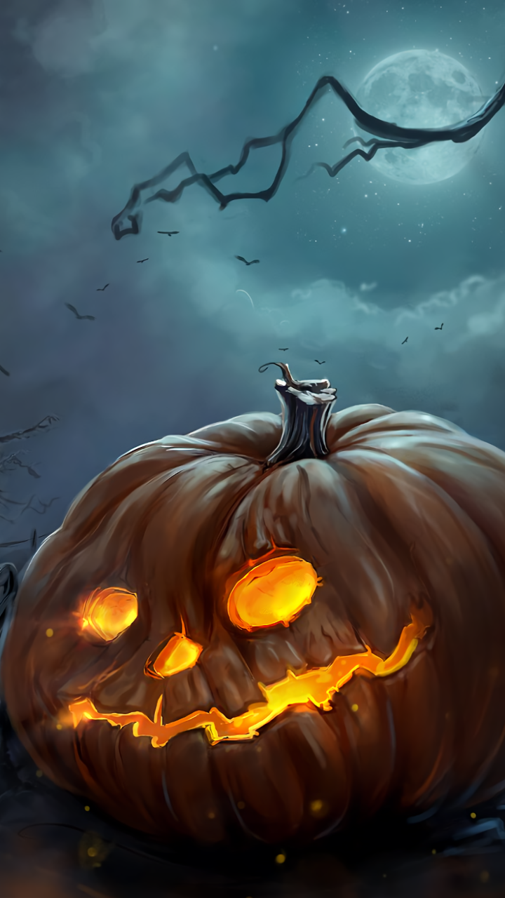 Halloween Mobile Wallpapers Top Free Halloween Mobile Backgrounds Wallpaperaccess