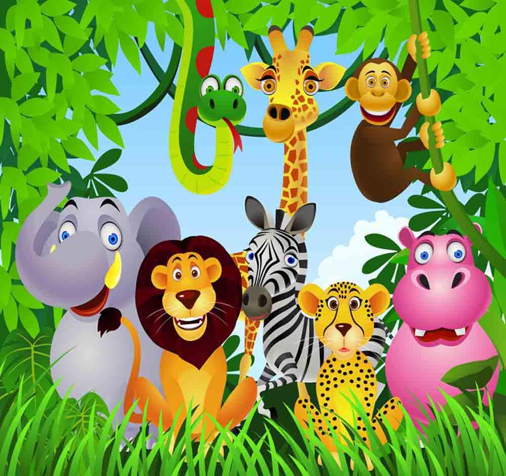 Safari Cartoon Wallpapers - Top Free ...