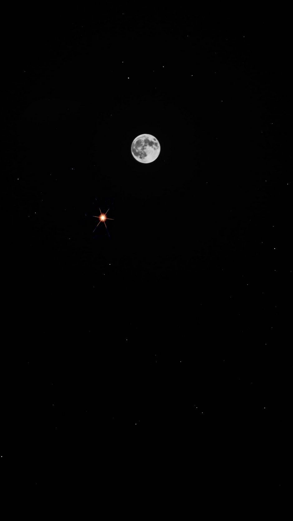 Moon And Stars Iphone Wallpapers Top Free Moon And Stars Iphone Backgrounds Wallpaperaccess