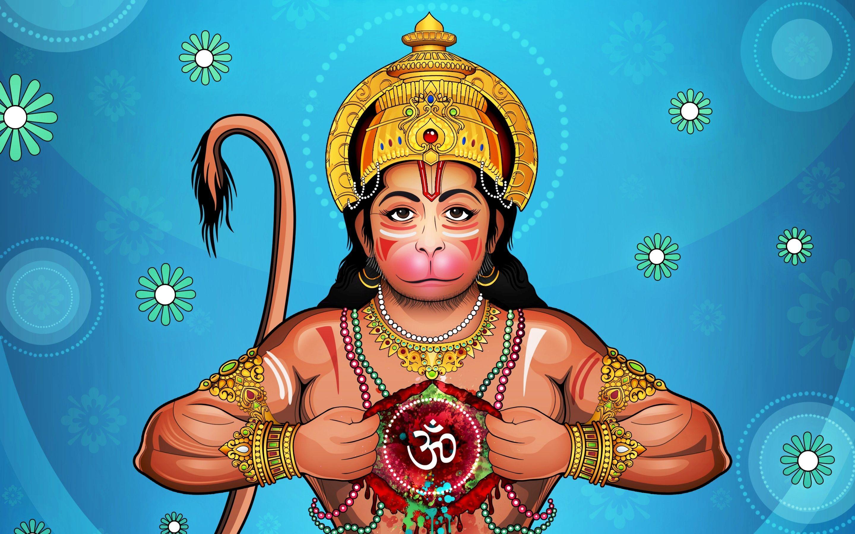 2880x1800 Hanuman Ji 4K wallpaper