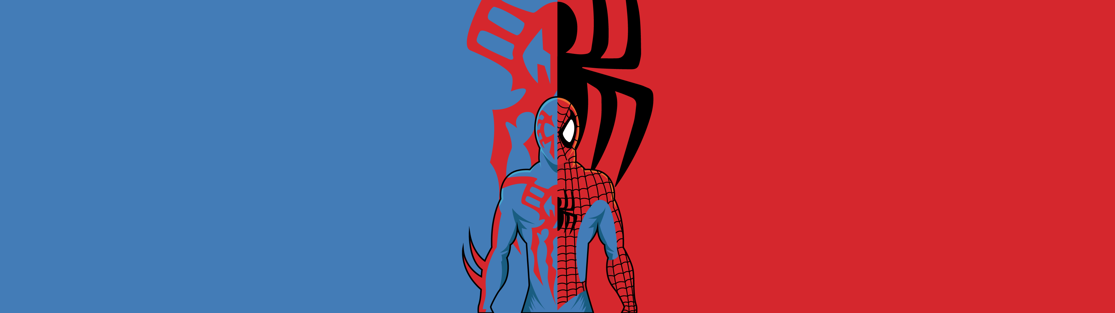 Spider Man Dual Screen Wallpapers Top Free Spider Man Dual