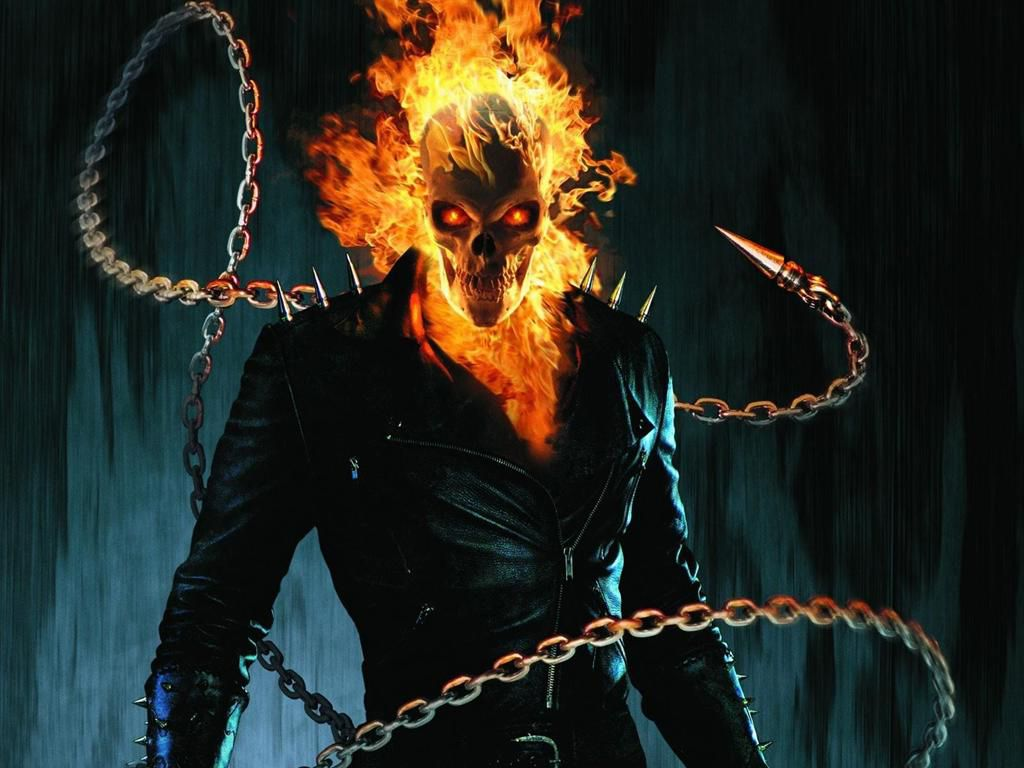 Hình nền tình yêu nguy hiểm 1024x768 - Hình nền HD Ghost Rider - HD