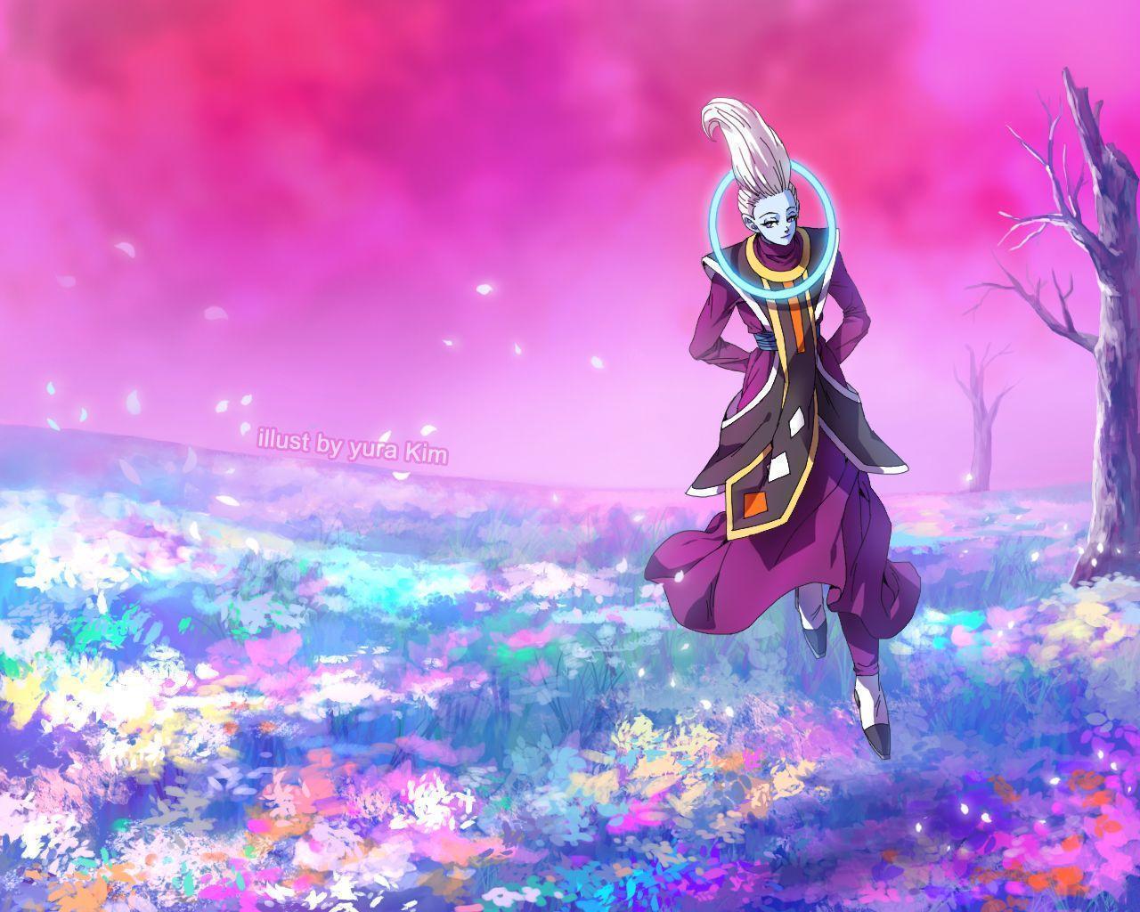 Anime Wallpaper Hd Wallpaper Whis Dragon Ball