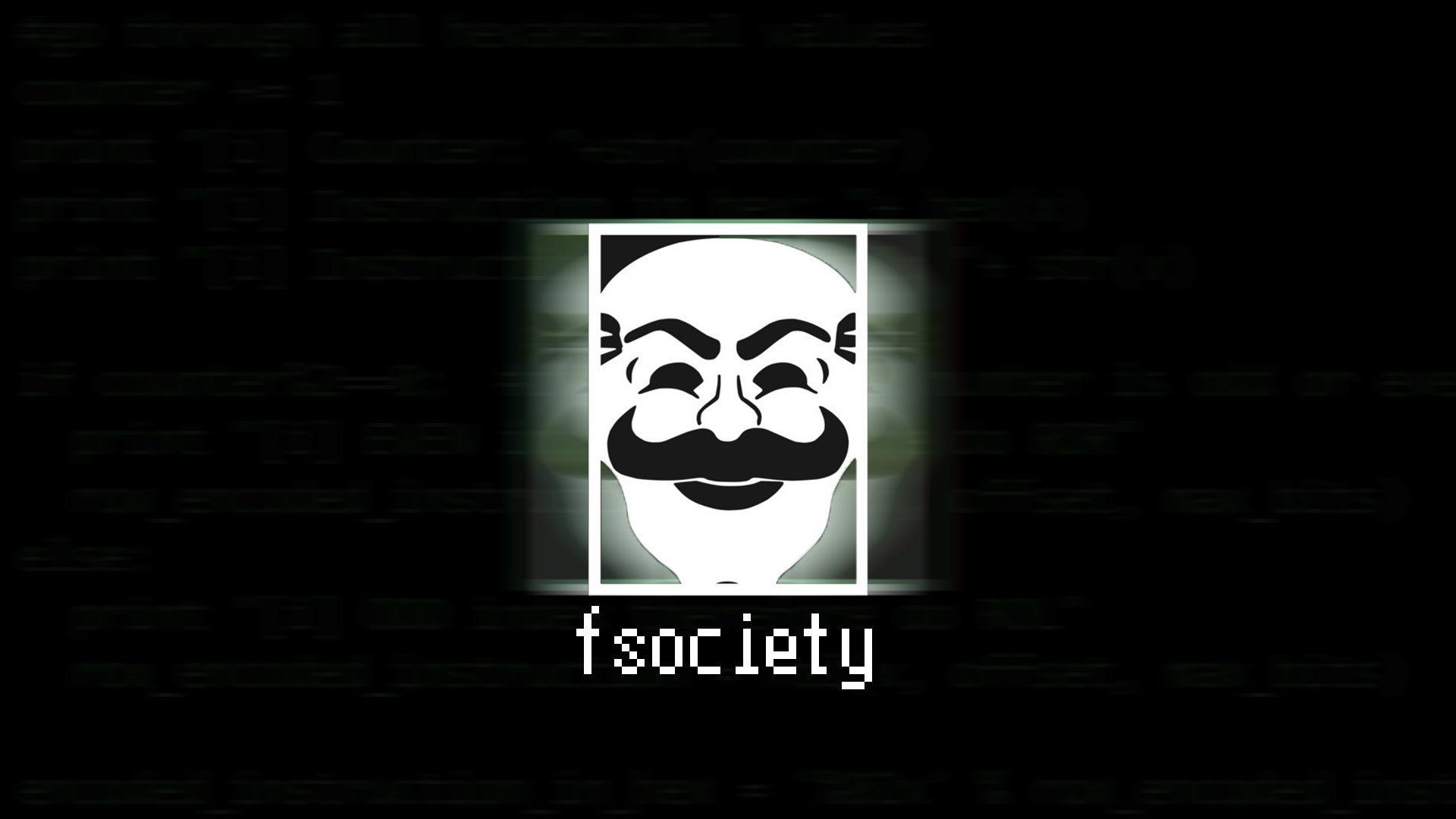 Fsociety Wallpapers Top Free Fsociety Backgrounds Wallpaperaccess
