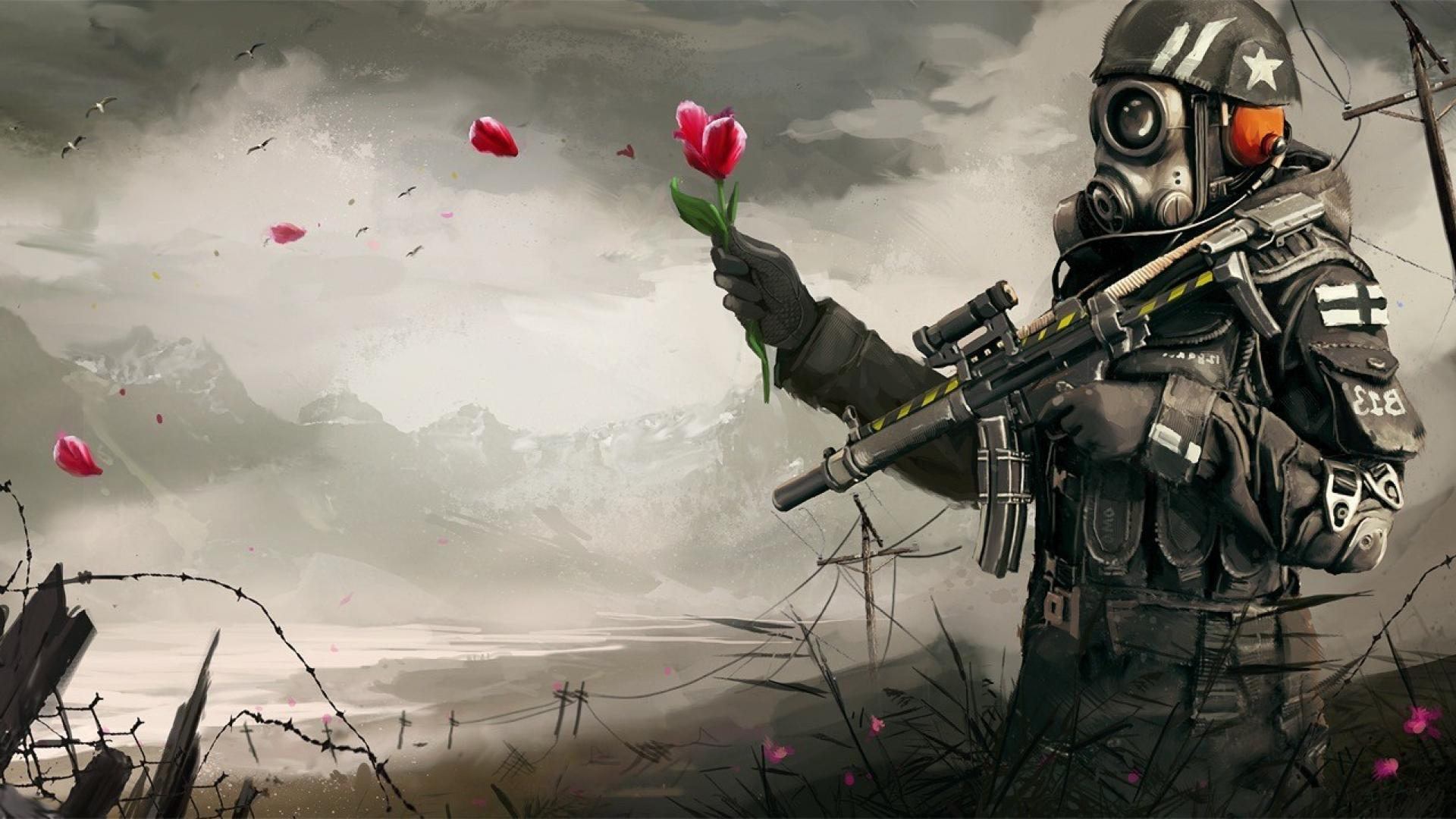 Gas Mask Soldier Wallpapers - Top Free Gas Mask Soldier ...